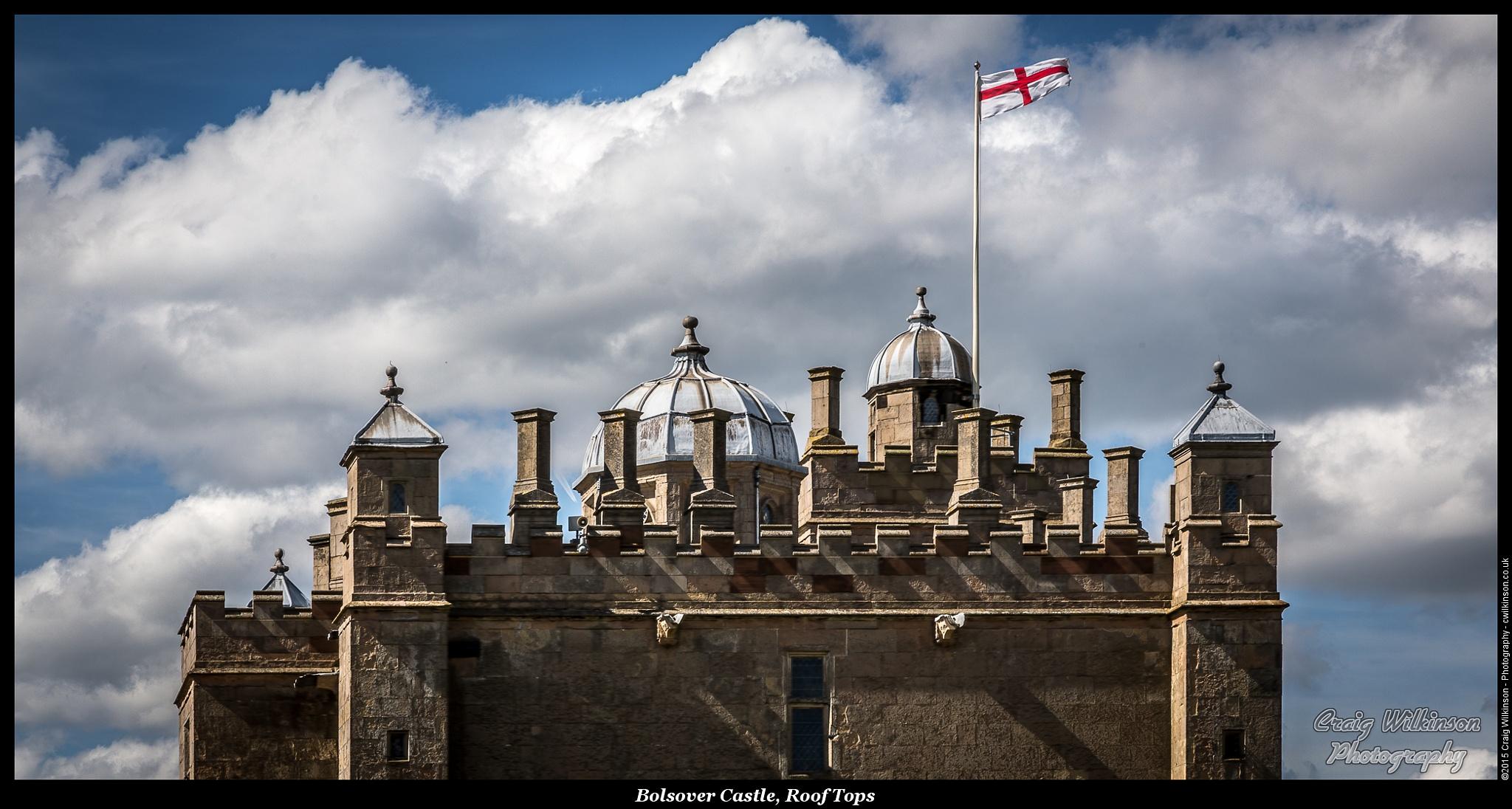 Bolsover Castle, Rooftops by Craig Wilkinson