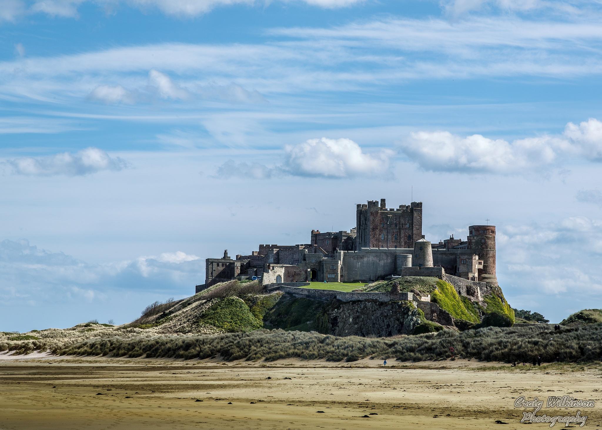 Bamburgh Castle by Craig Wilkinson