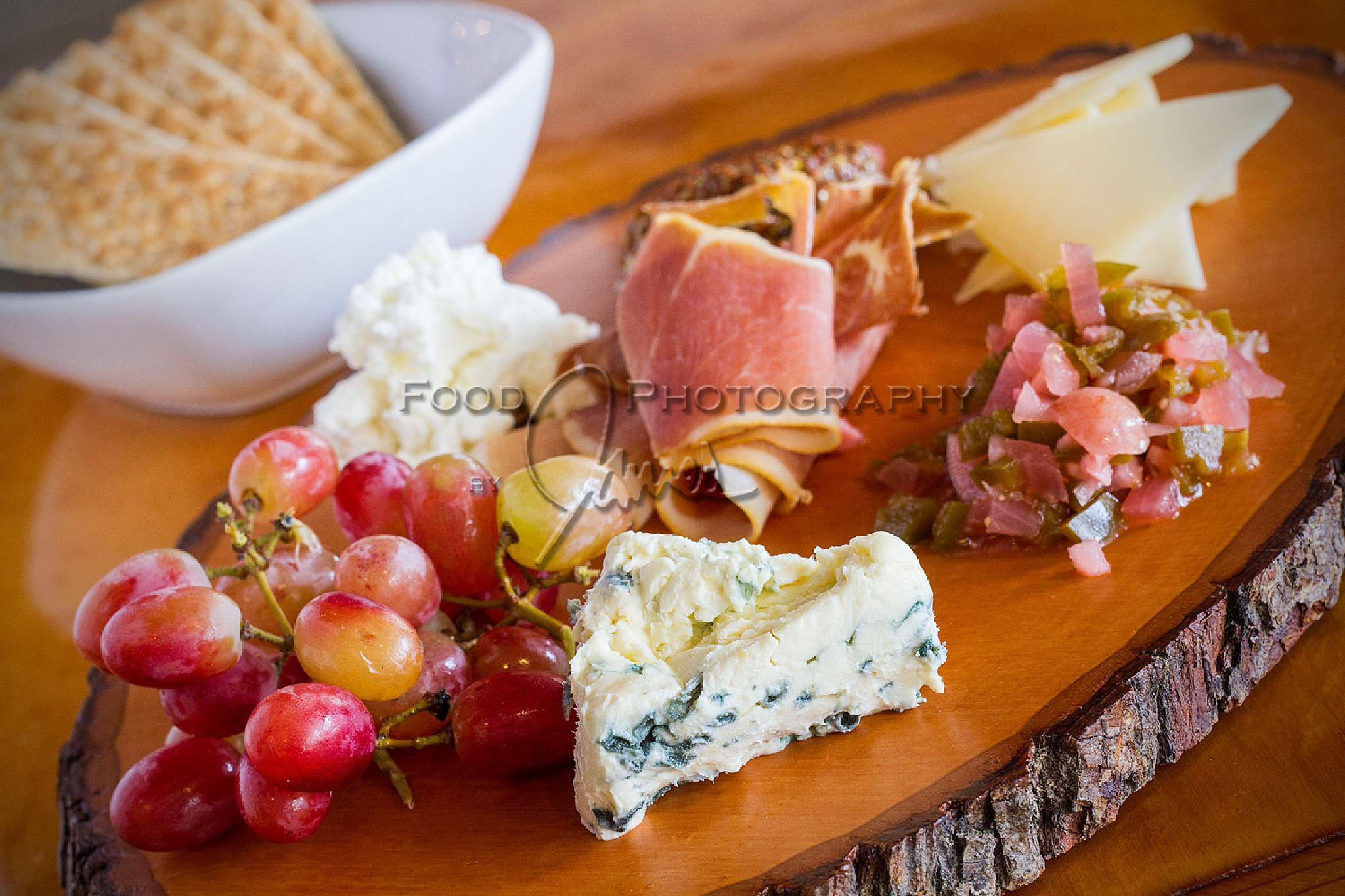 Cheese, Grapes, & Salty Pork by James Stefiuk