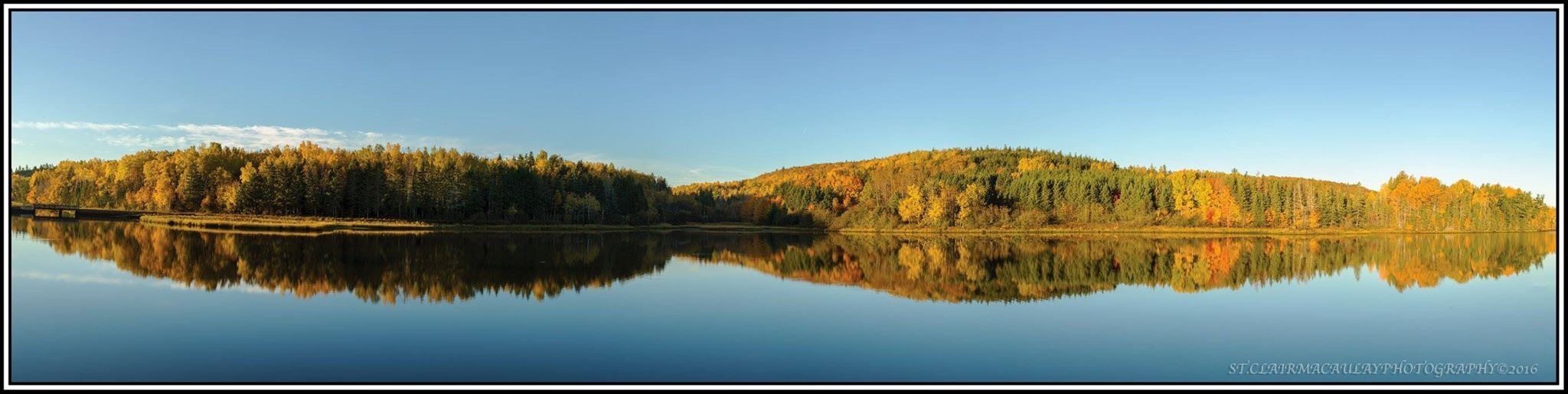 Fall mirror image  by stclairmac
