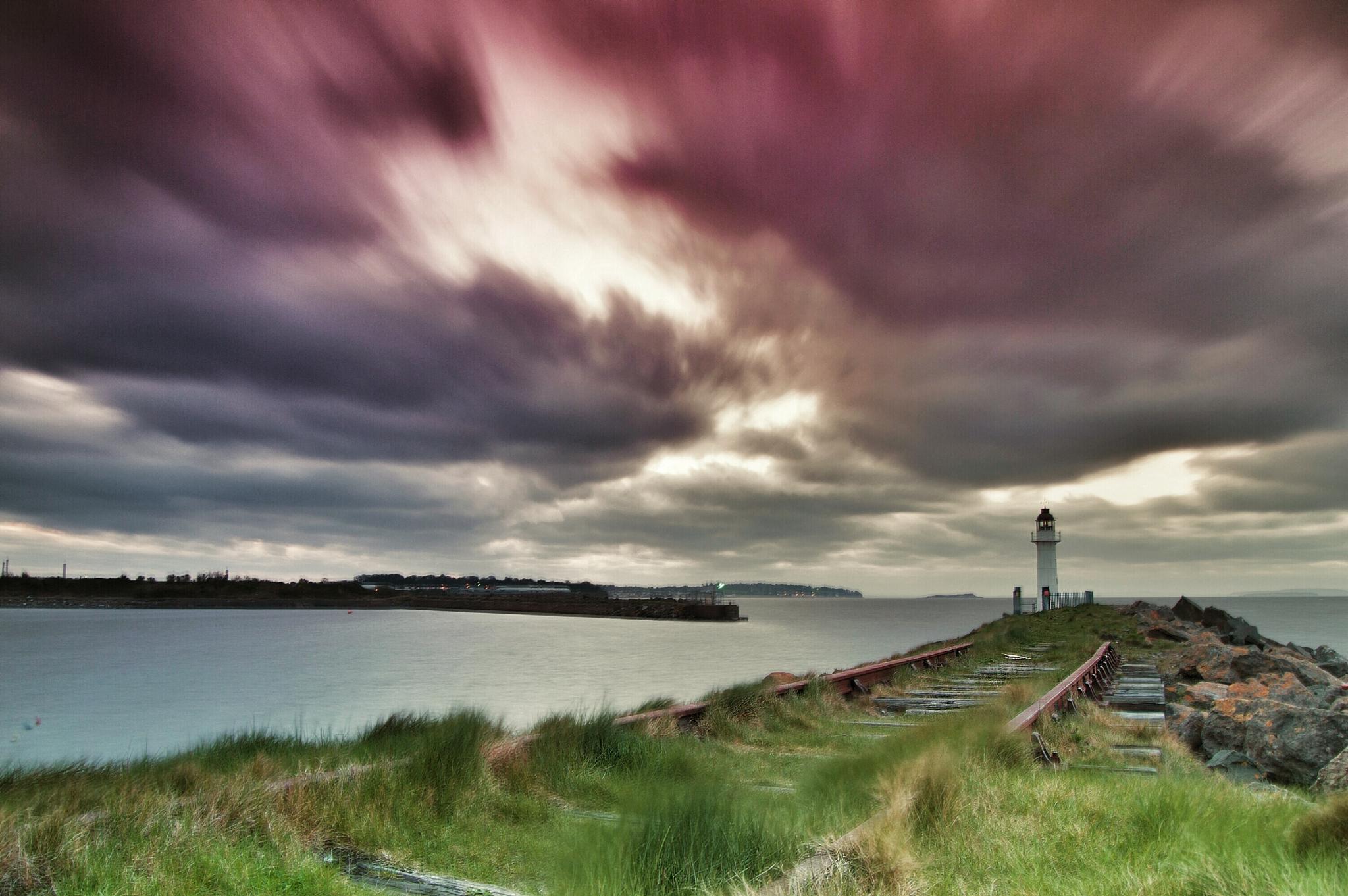 sky above the pier by bryan.ashford 52