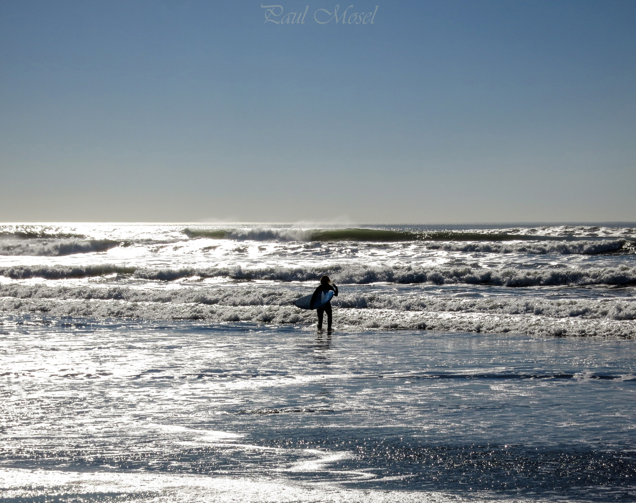 The lone surfer. by Paul