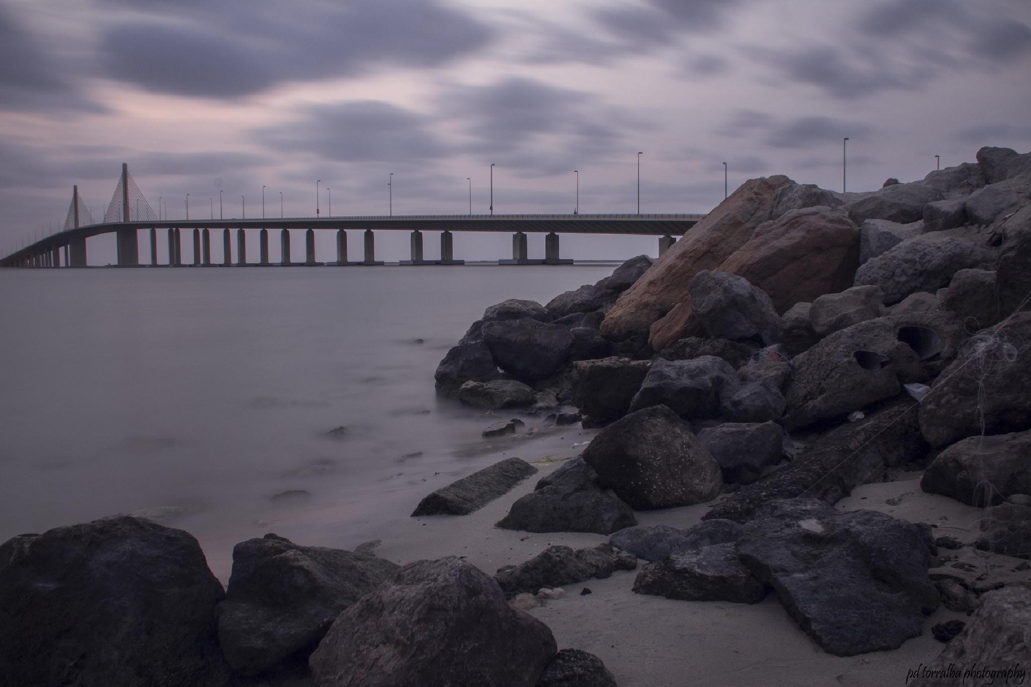 al bateen bridge by ptorralba08