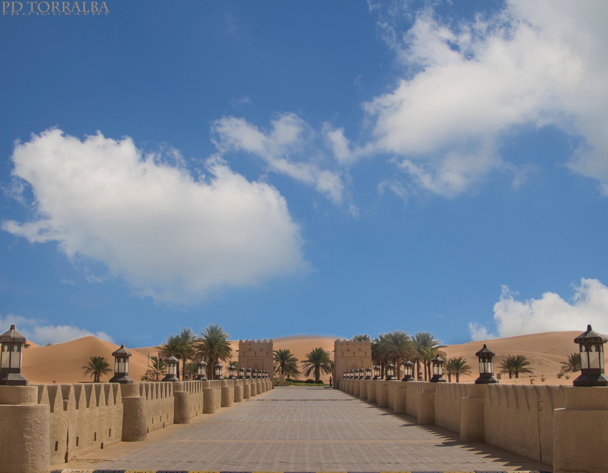 desert gate by ptorralba08
