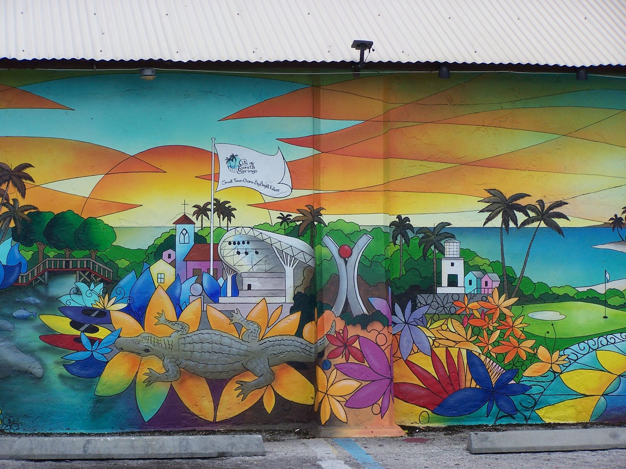 Bonita Mural by Todd