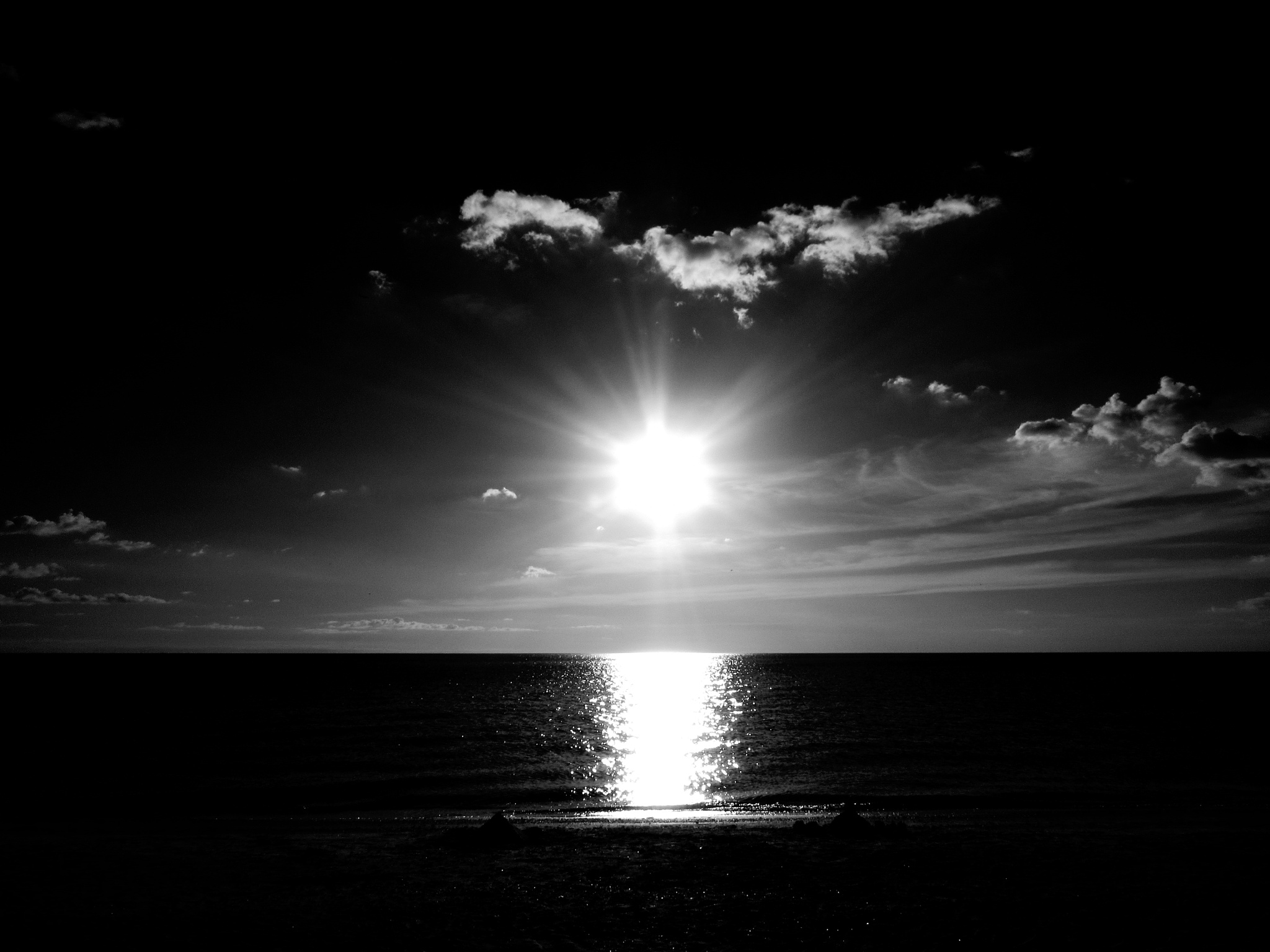 Monochrome Sunset by Todd