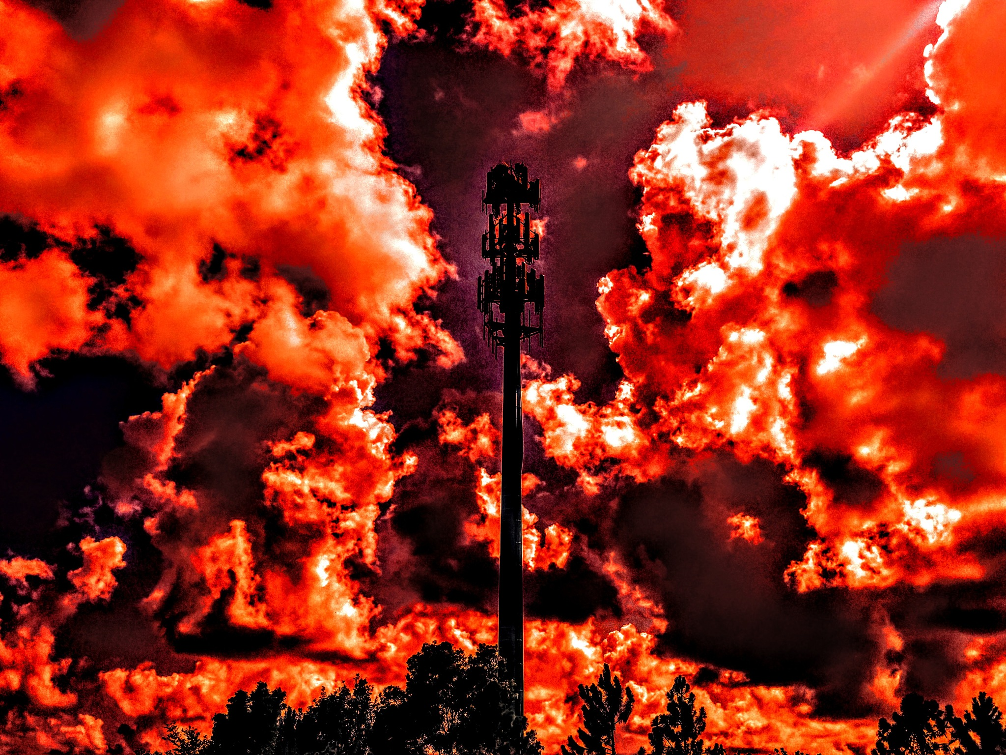 Hell Tower by Todd