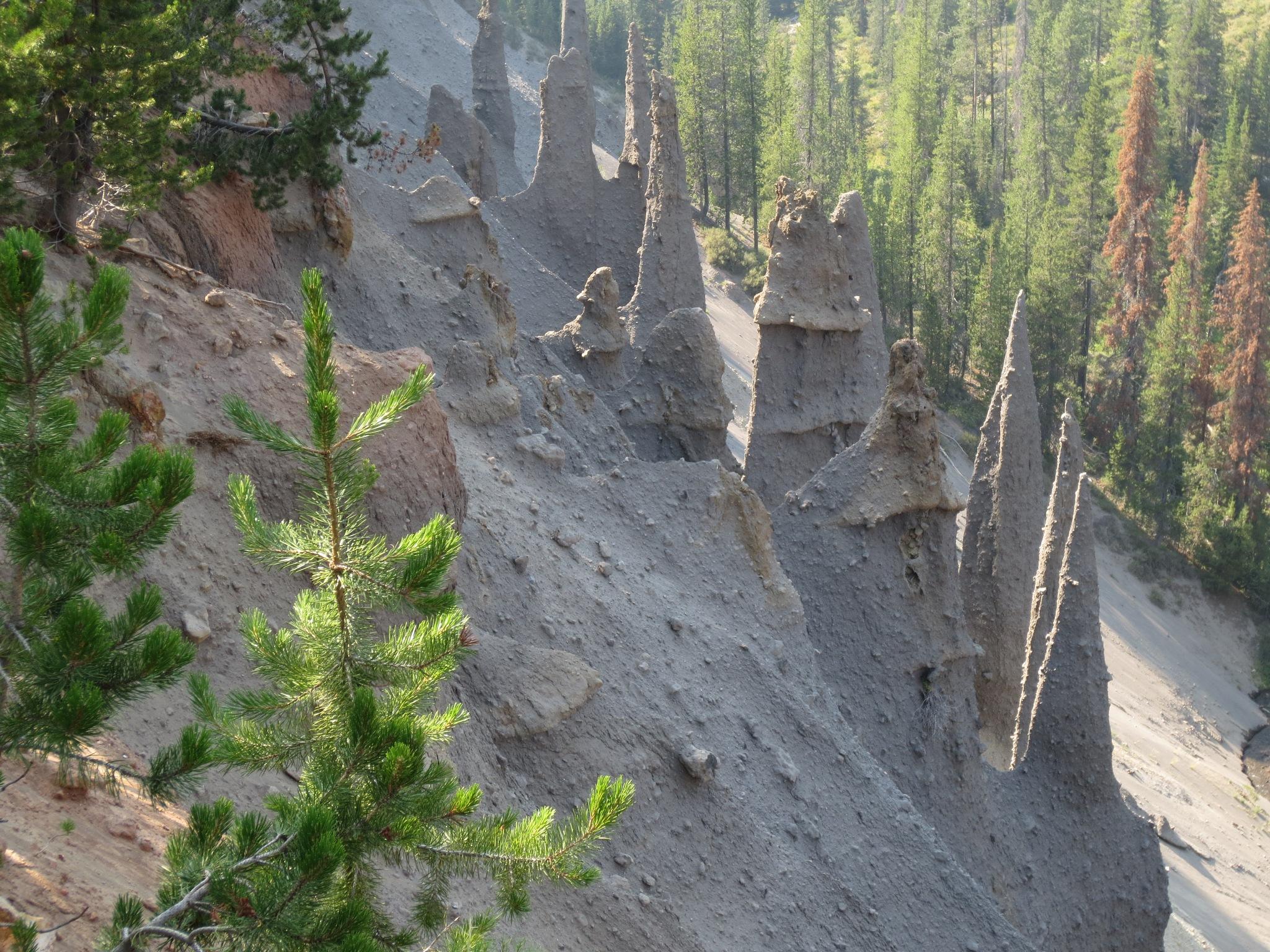 The Pinnacles overlook by Lani Ayala