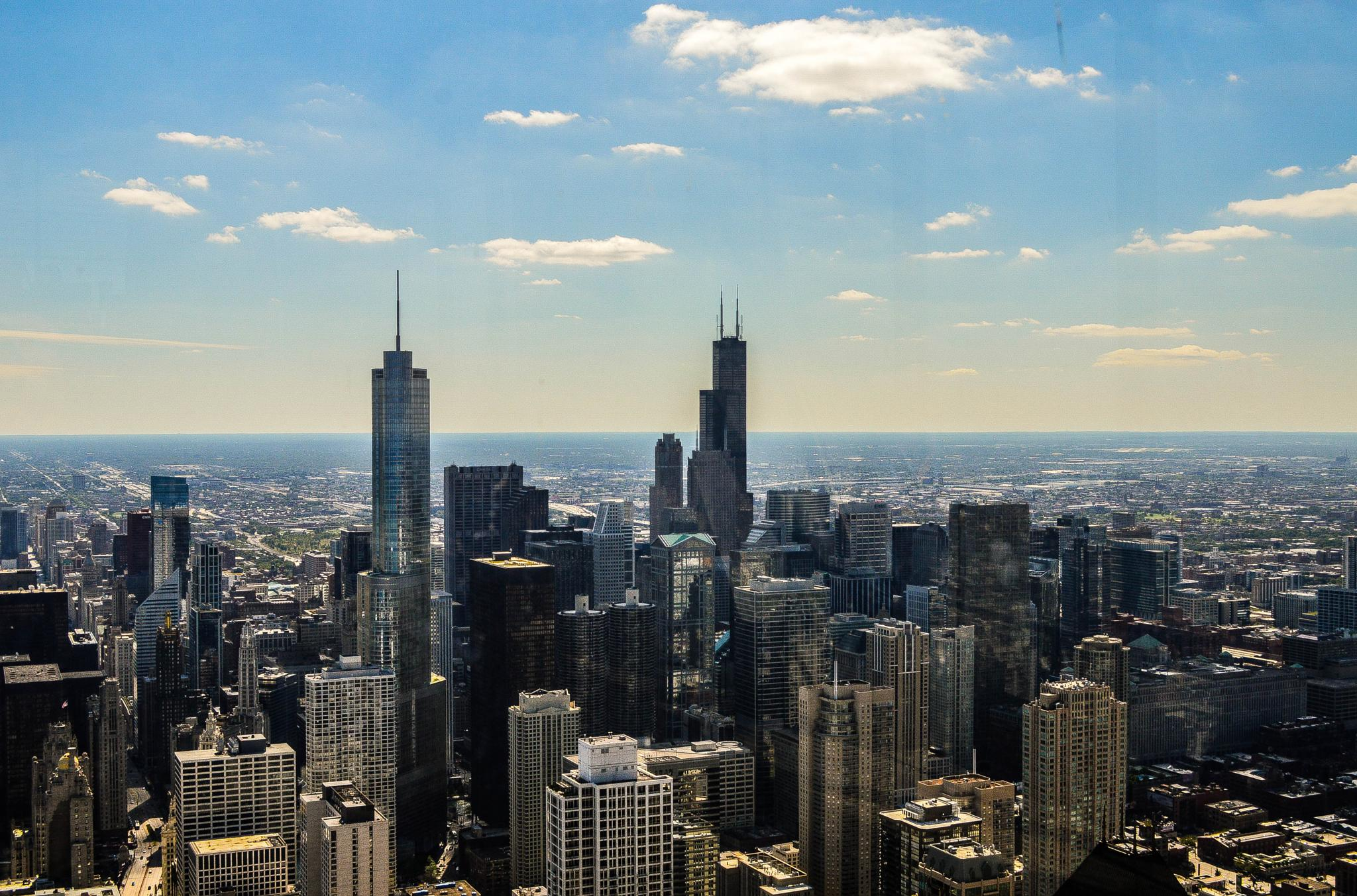 Photo in Cityscape #chicago #skyline #clear day #sears tower #cityscape #illinois