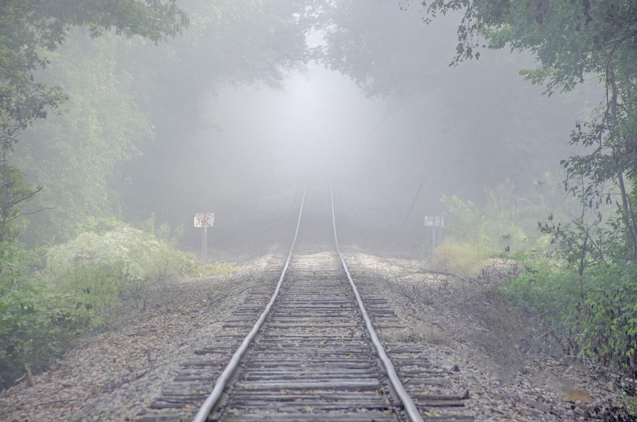 Fog along the Tracks by CharlieWilson