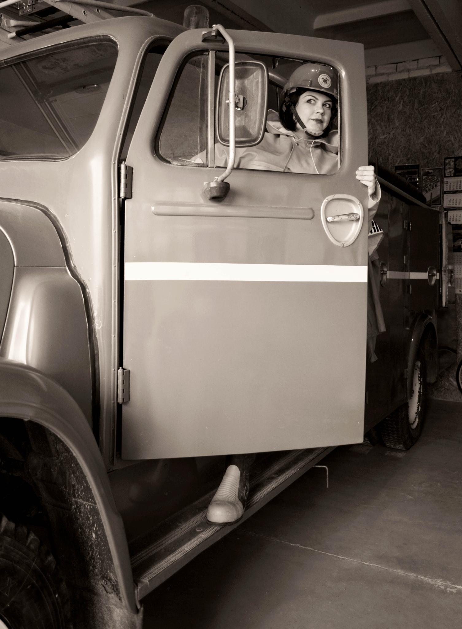 Firewoman by Moni Mon ( M&M Fotografija )