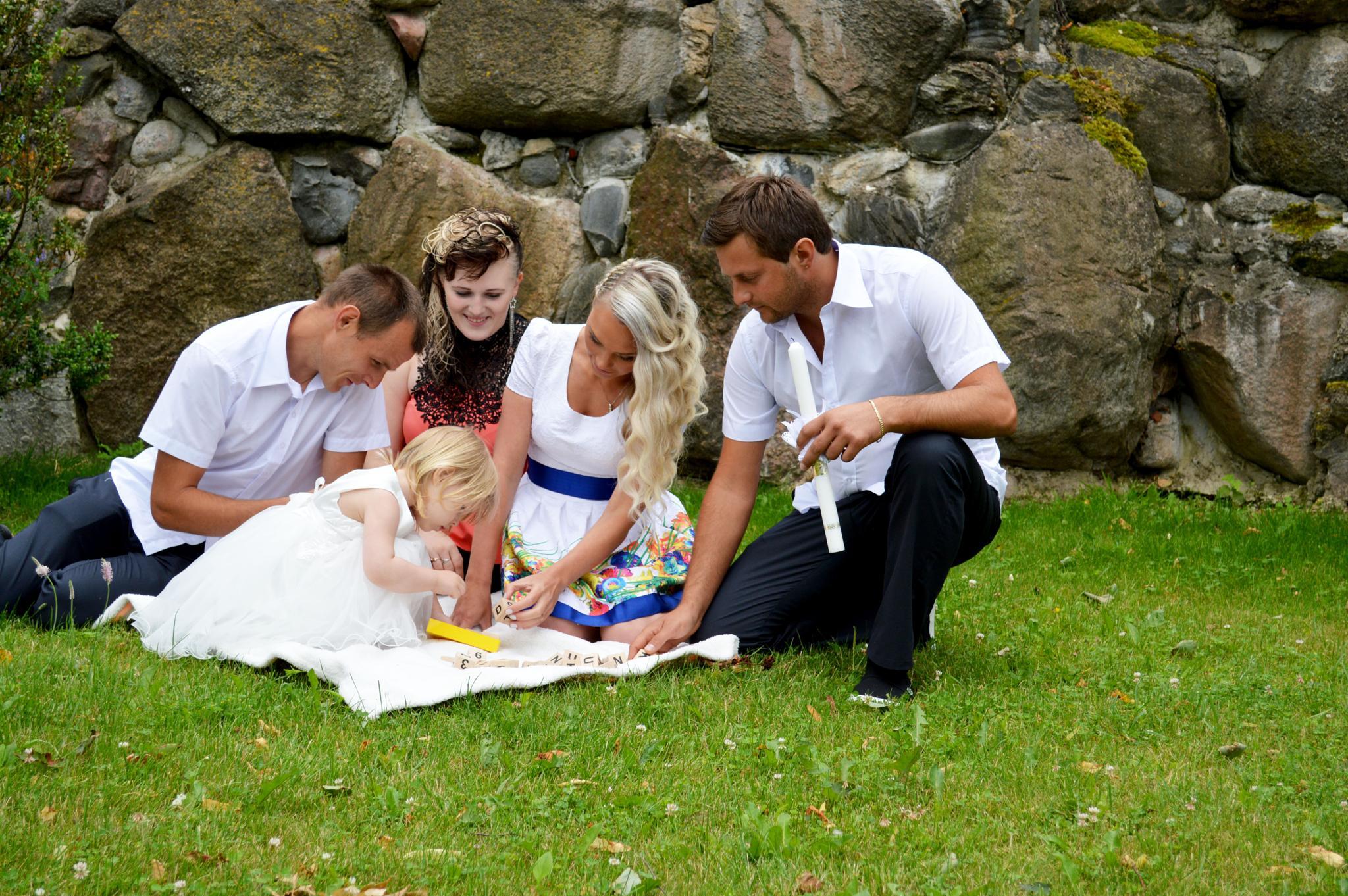 Vilte's christening  by Moni Mon ( M&M Fotografija )
