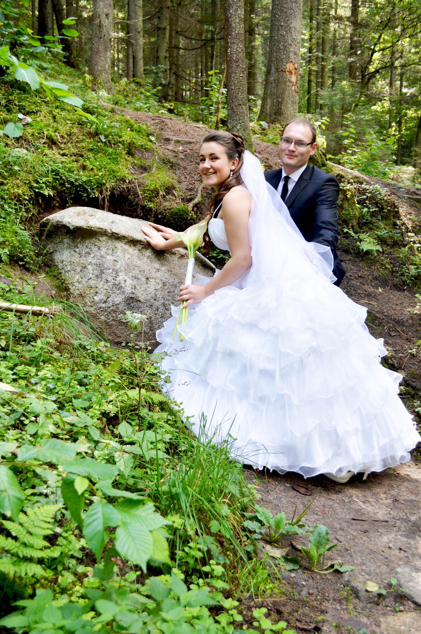 Rūta and Jonas wedding  by Moni Mon ( M&M Fotografija )