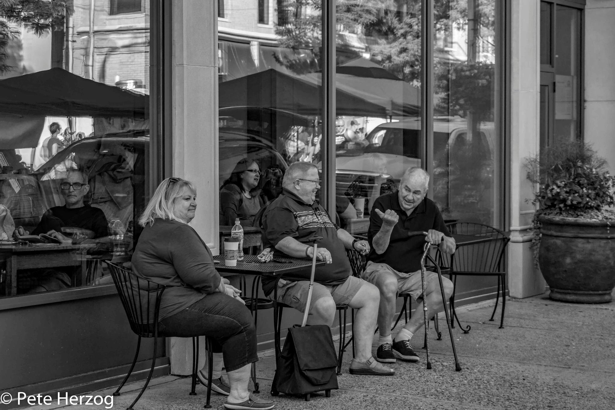 People Taking a Break by peter.herzog.3323