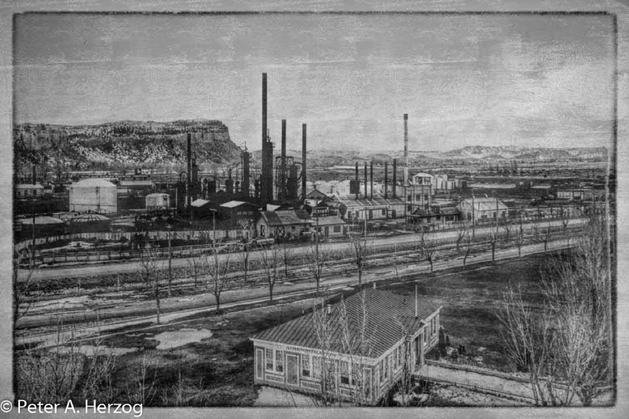 Yale Refinery Billings Montana 1947 by peter.herzog.3323