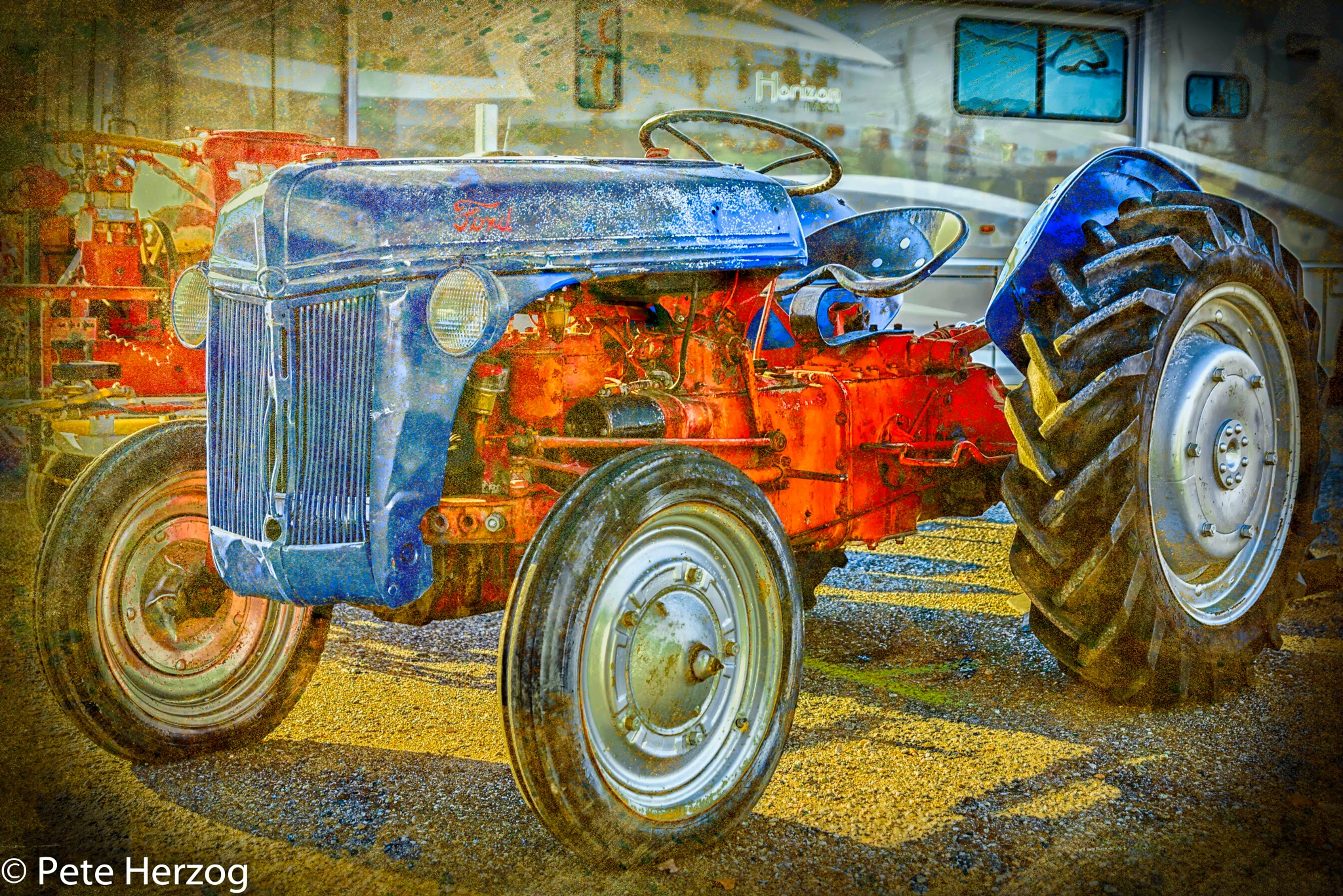 Vintage Ford Tractor by peter.herzog.3323