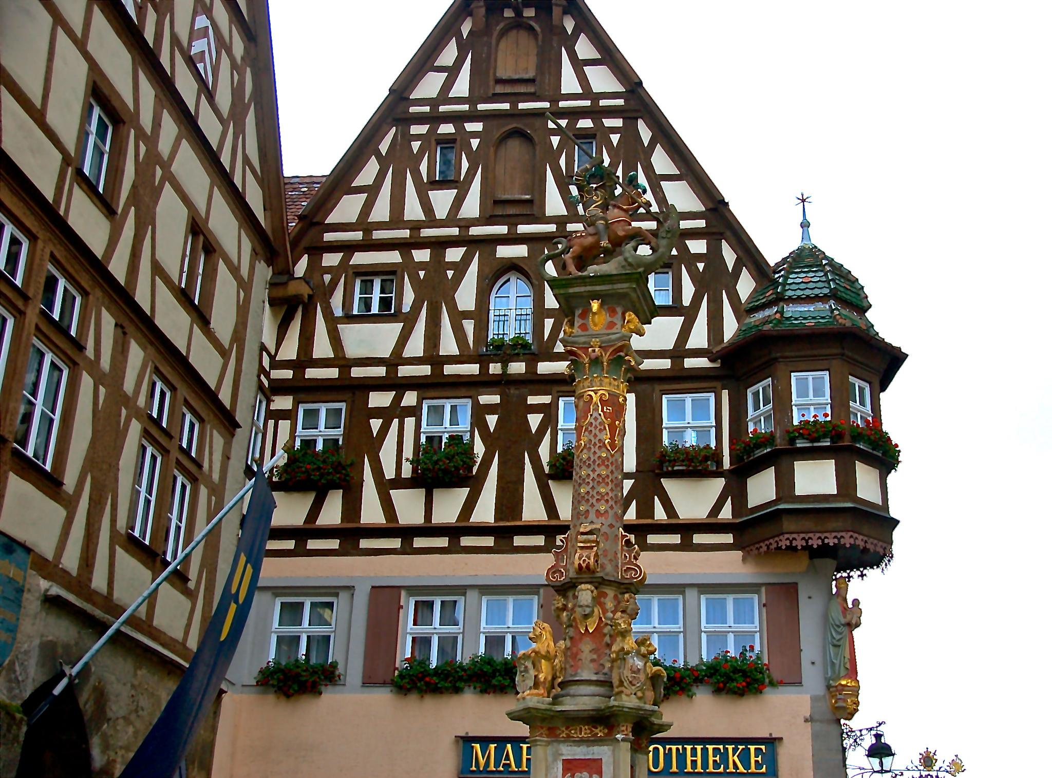 Rothenburg, Germany by Robert Ou