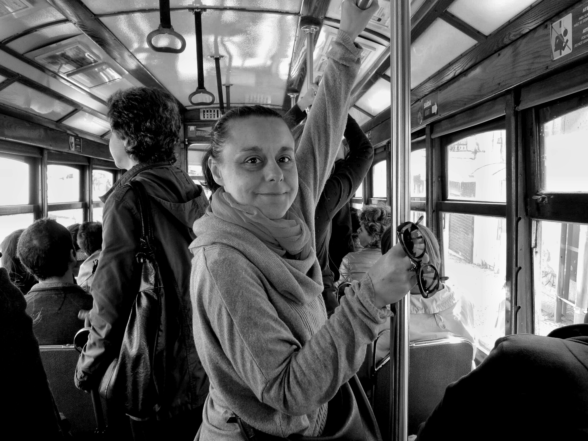 Happy in Lisbon by Sergio Deggiovanni