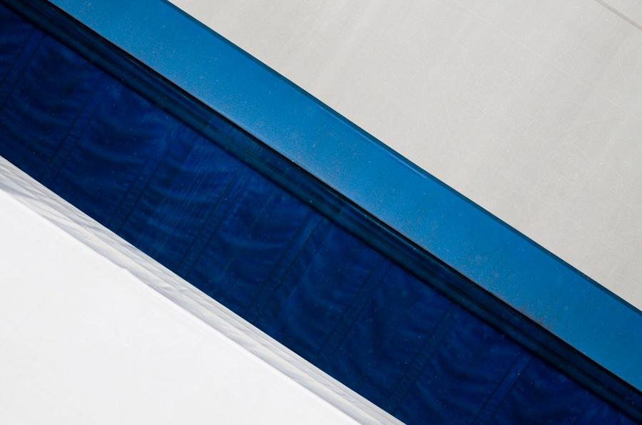 Minimal Blue  by m.cozzutti