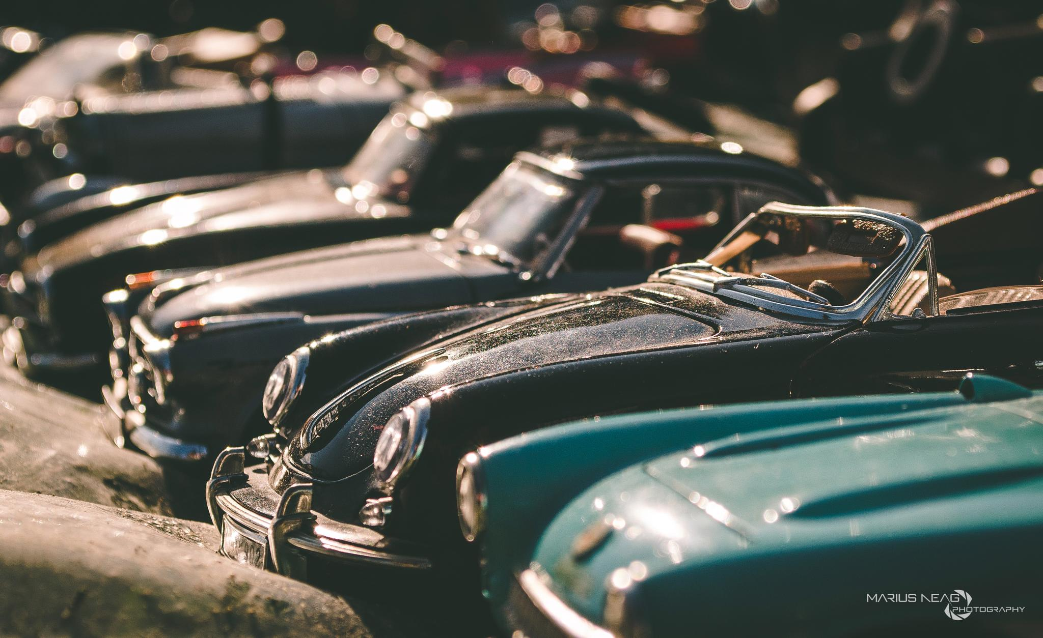 Tiny cars by Marius Neag