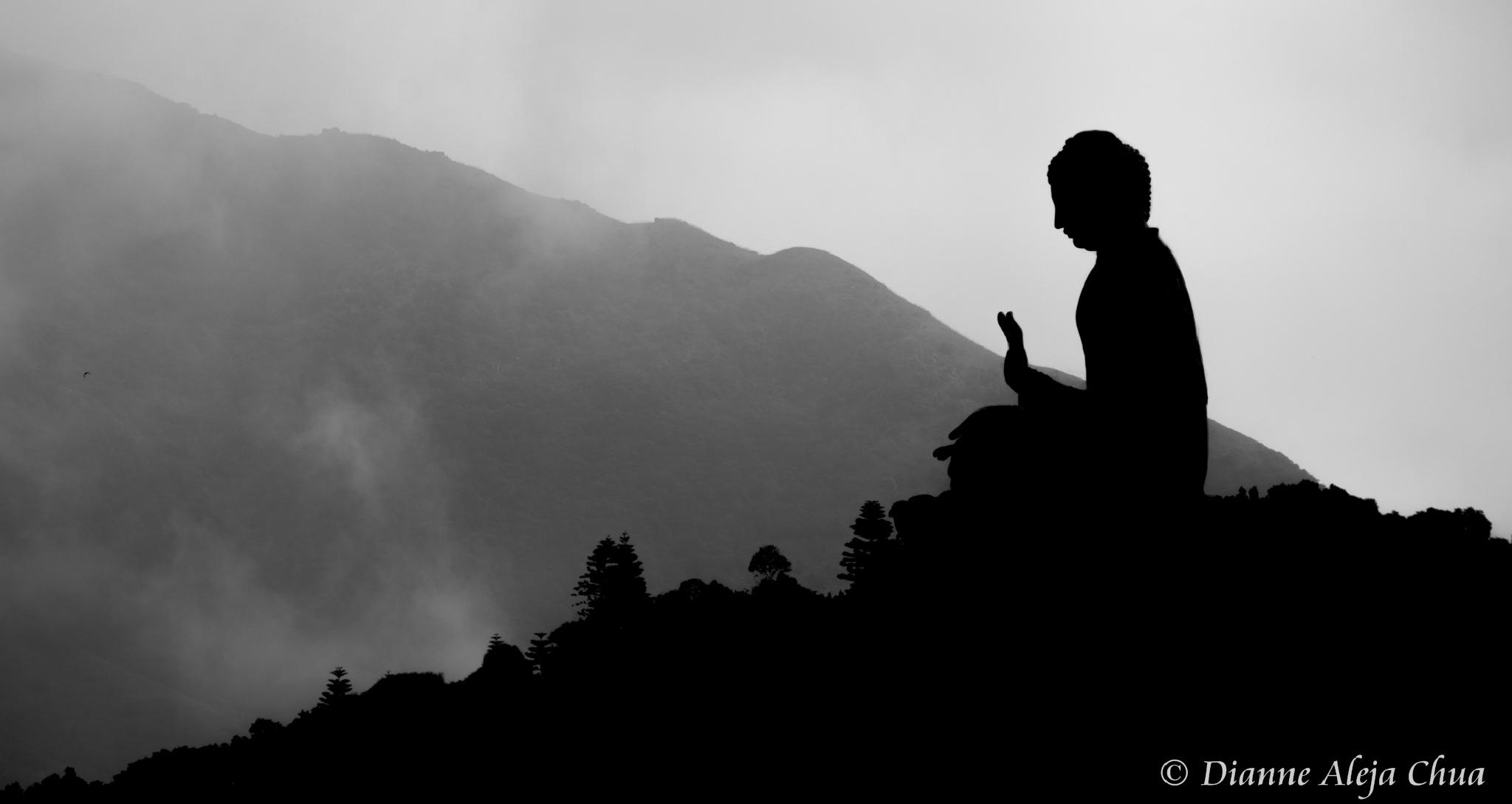 Tian Tan Buddha by Dianne Aleja Chua