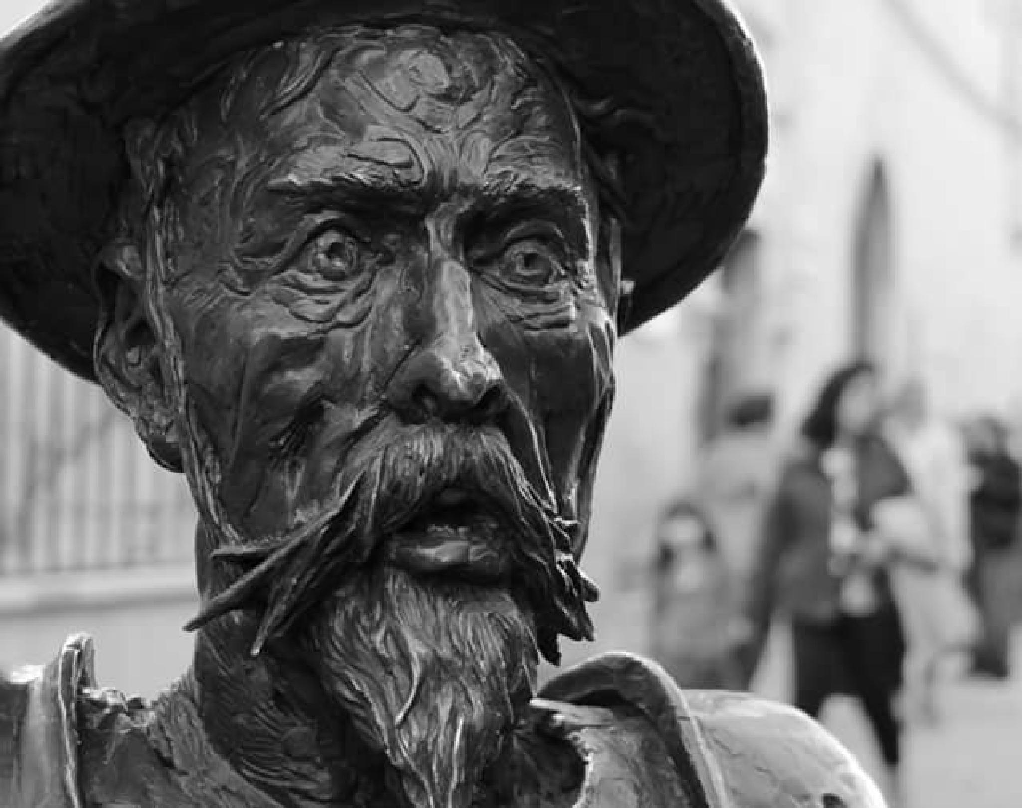 Don Quijote's portrait  by lorenzo.lourencothierry