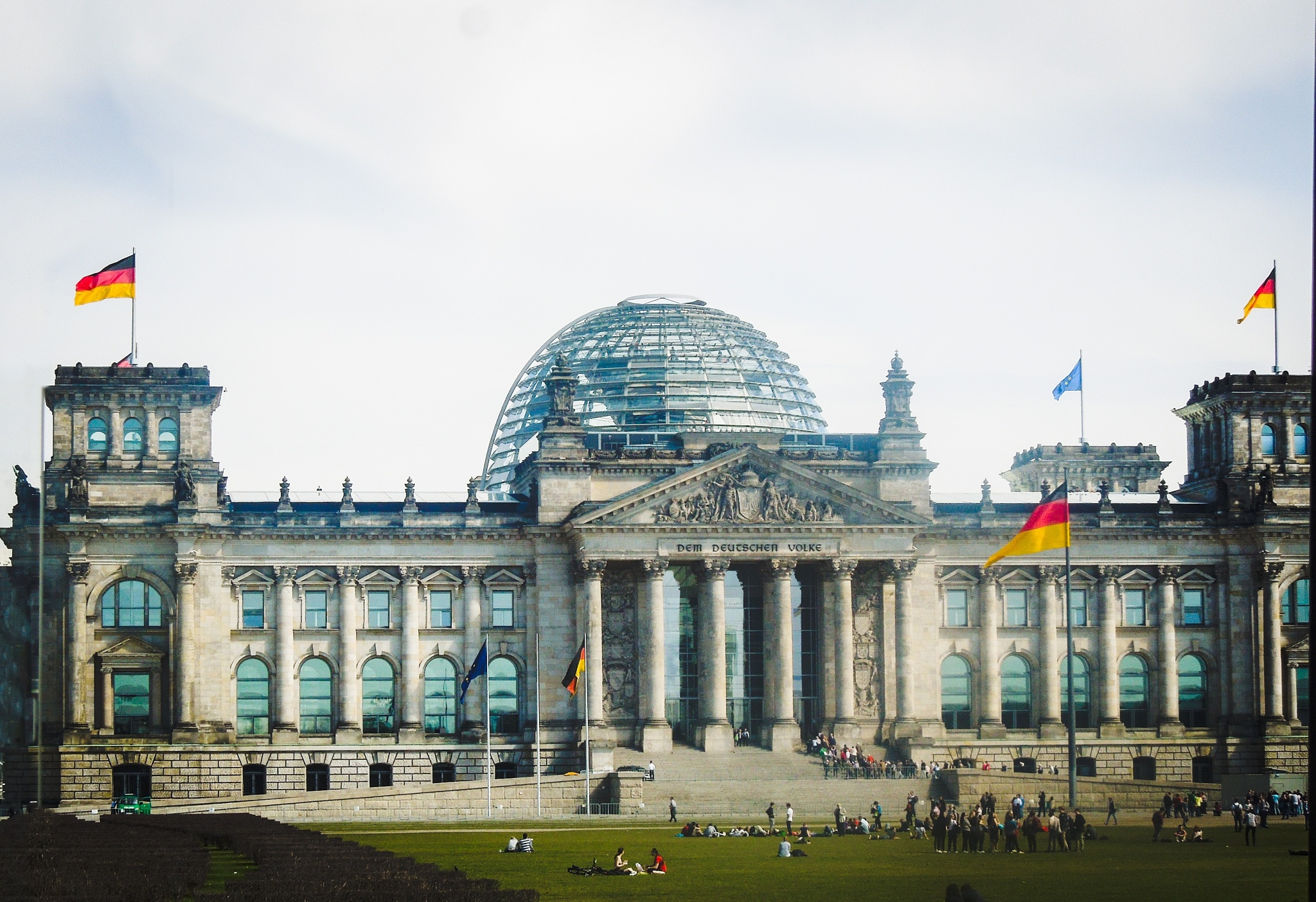 The Reichstag building. by CelyTessy
