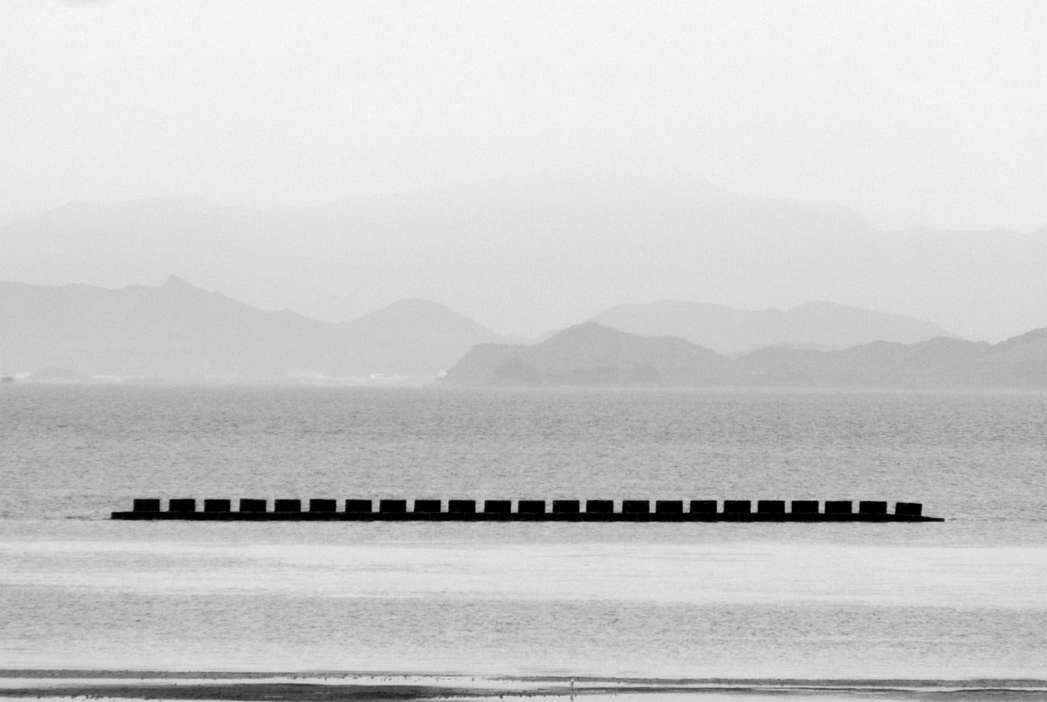 Photo in Black and White #inland-sea