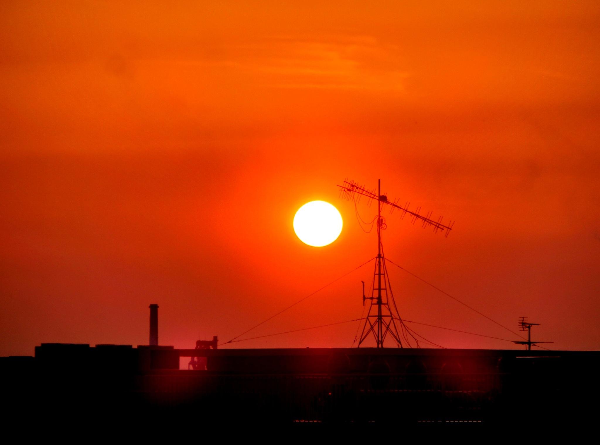 setting sun by takuya.murata.14