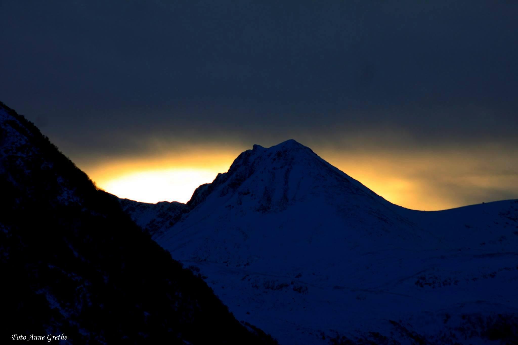 Winter light in western norway by Anne Grethe Eikrem