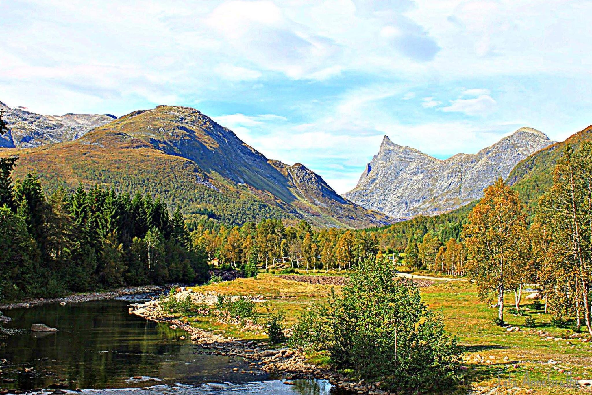 Norwegian landscape by Anne Grethe Eikrem