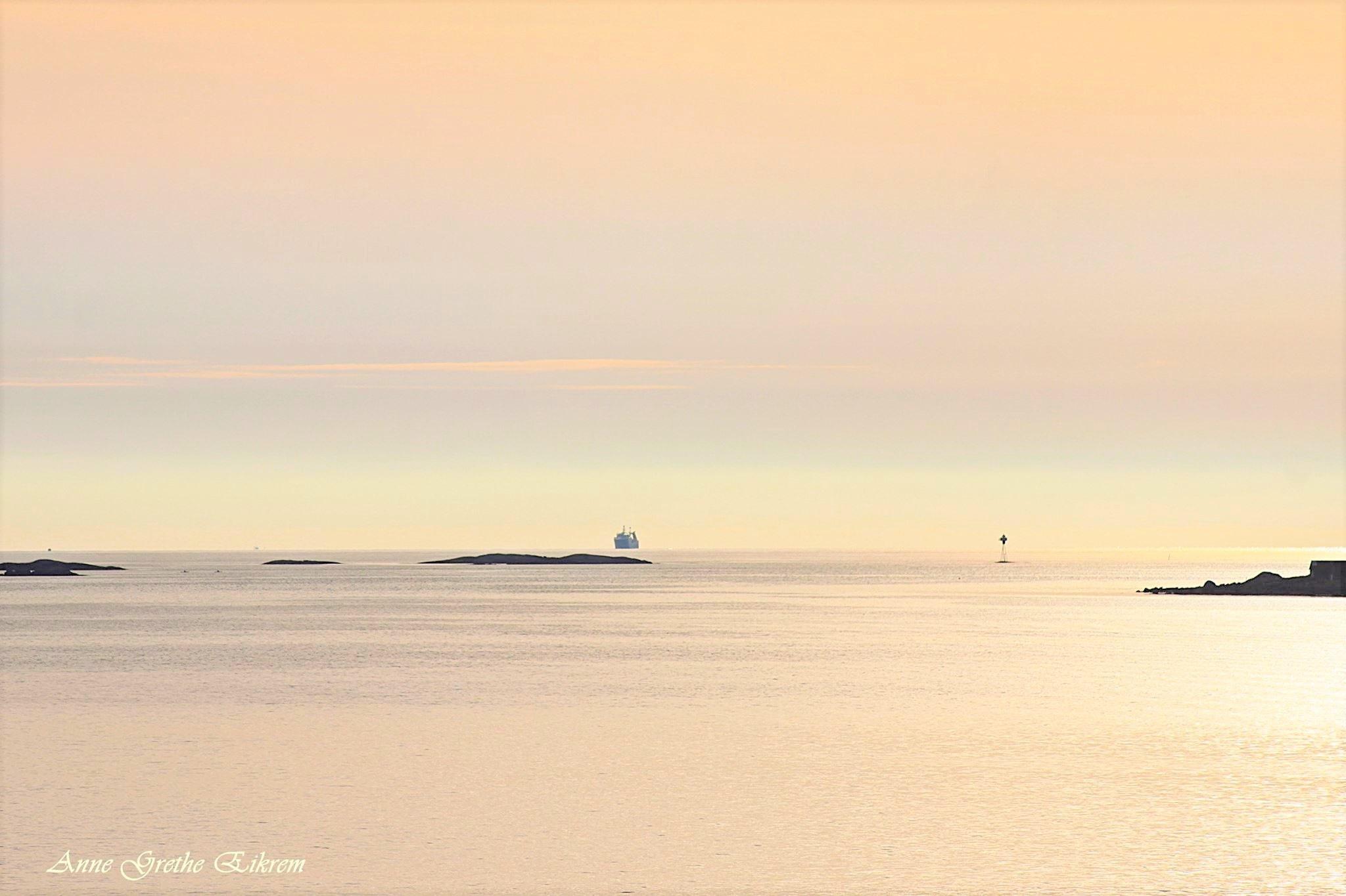 Seascape by Anne Grethe Eikrem