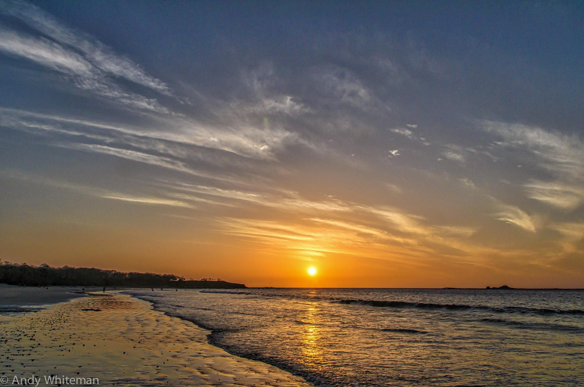 Sunset Tamarindo Bay - March 2015 by Smilin' Dog