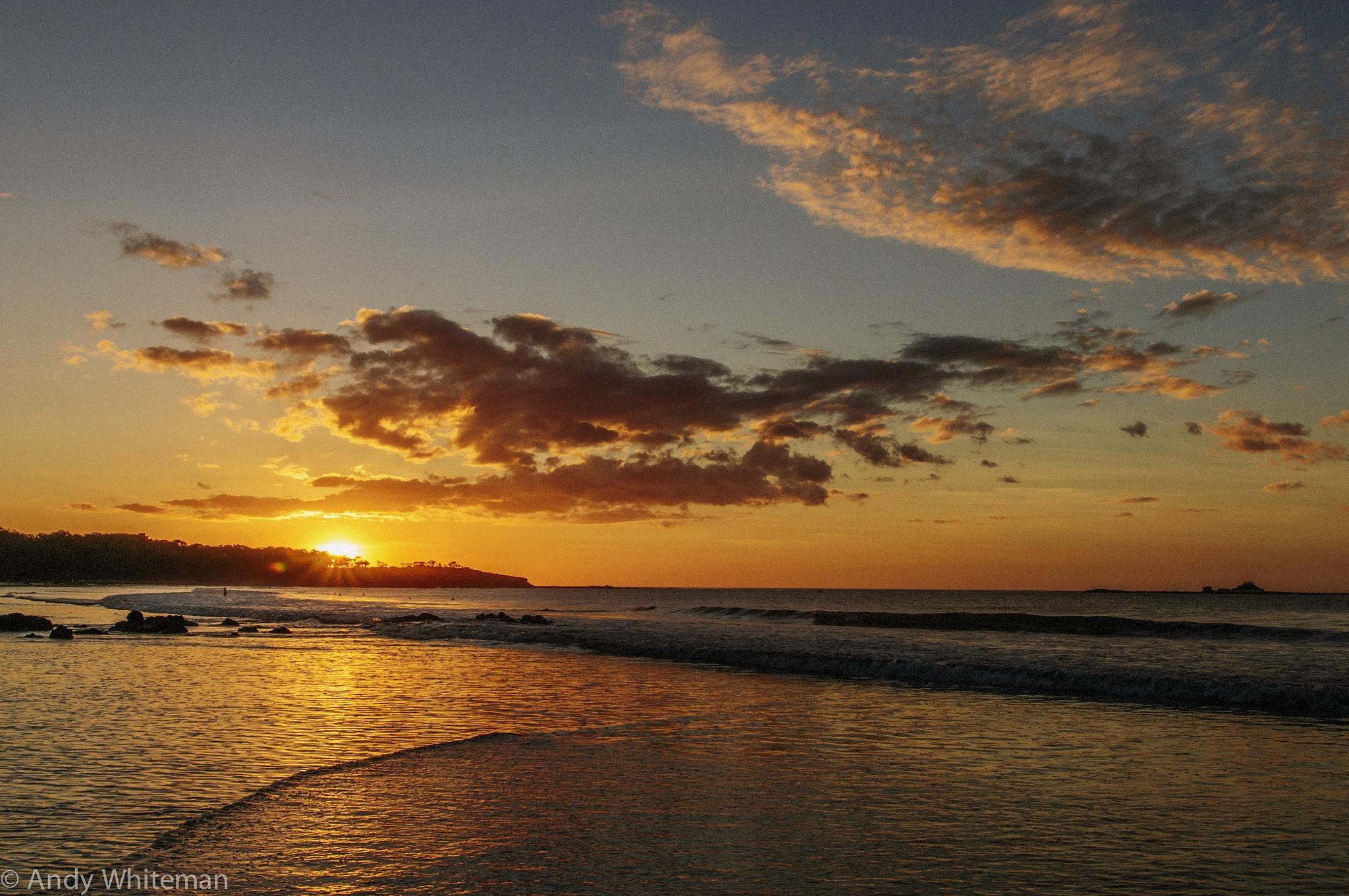 Tamarindo Bay Sunset no 46 by Smilin' Dog
