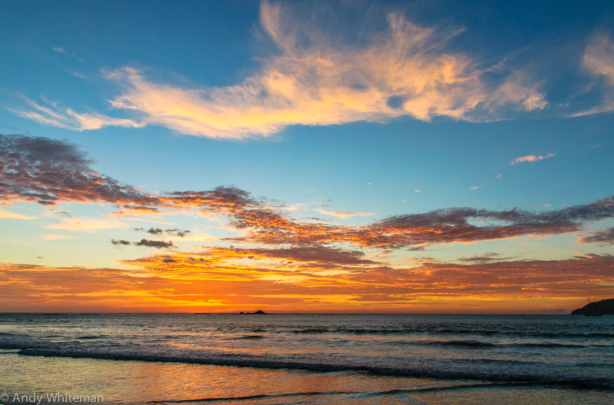 Sunset from the Past - Tamariindo Bay by Smilin' Dog