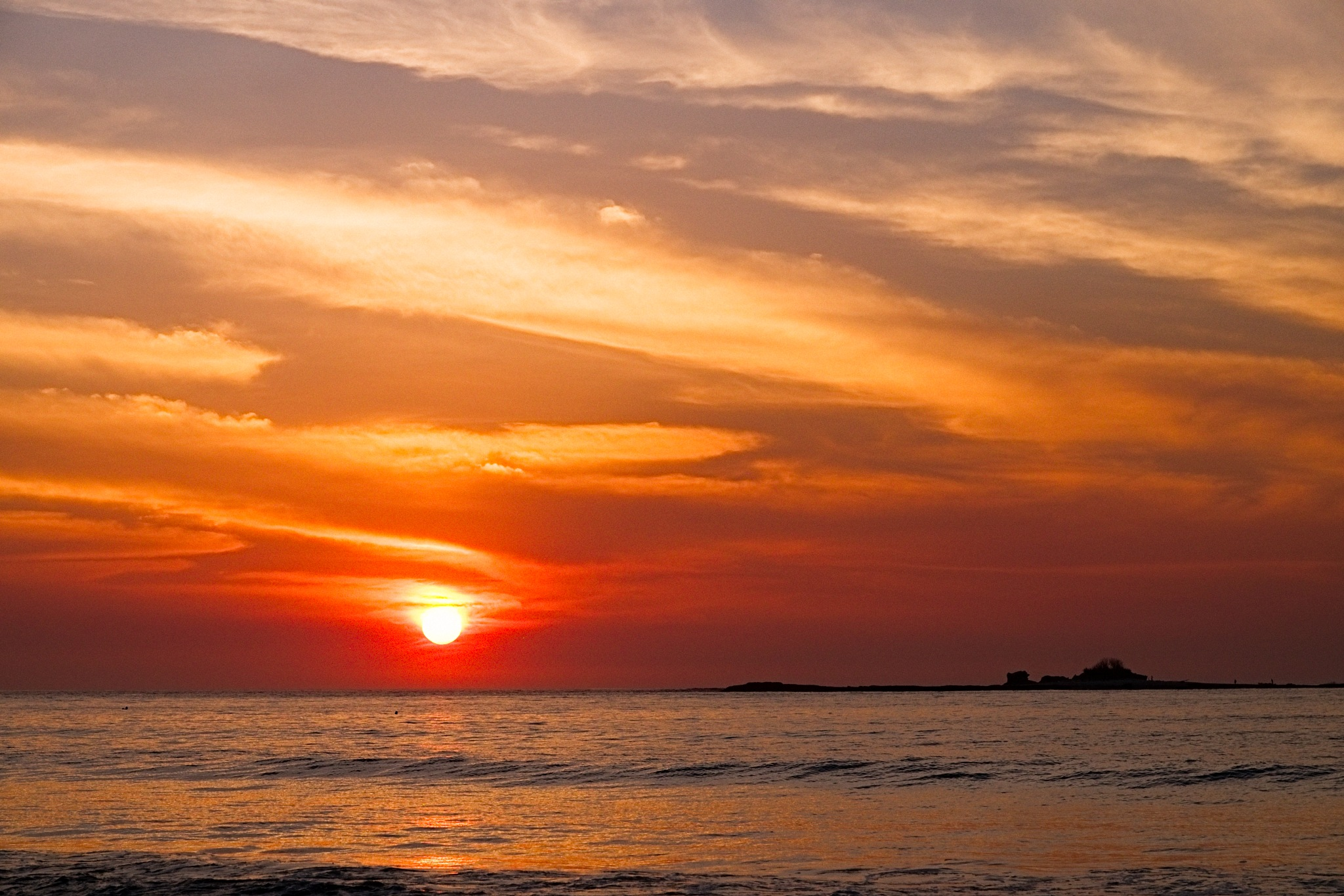 Sunset no. 2 Tamarindo Bay by Smilin' Dog
