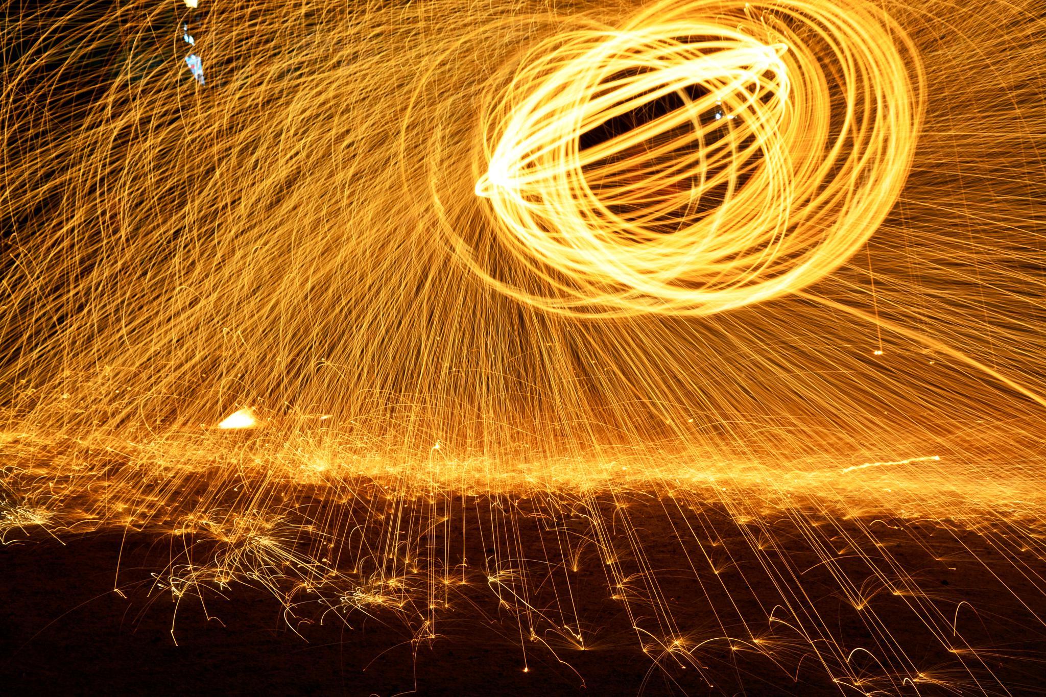 Steel wool Photography !!! by Suketu Purohit