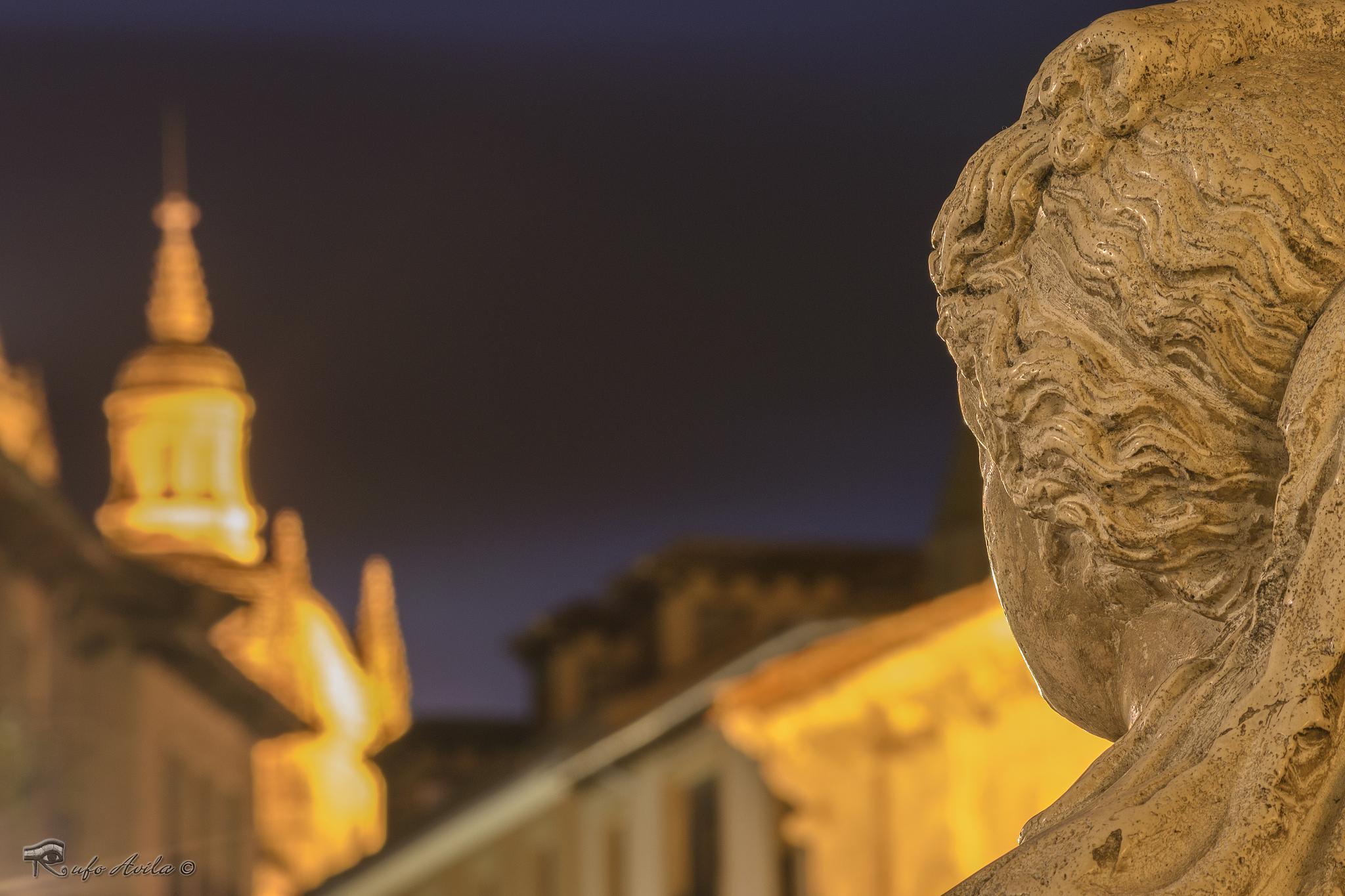 Photo in Street Photography #estatua #mirada #segovia