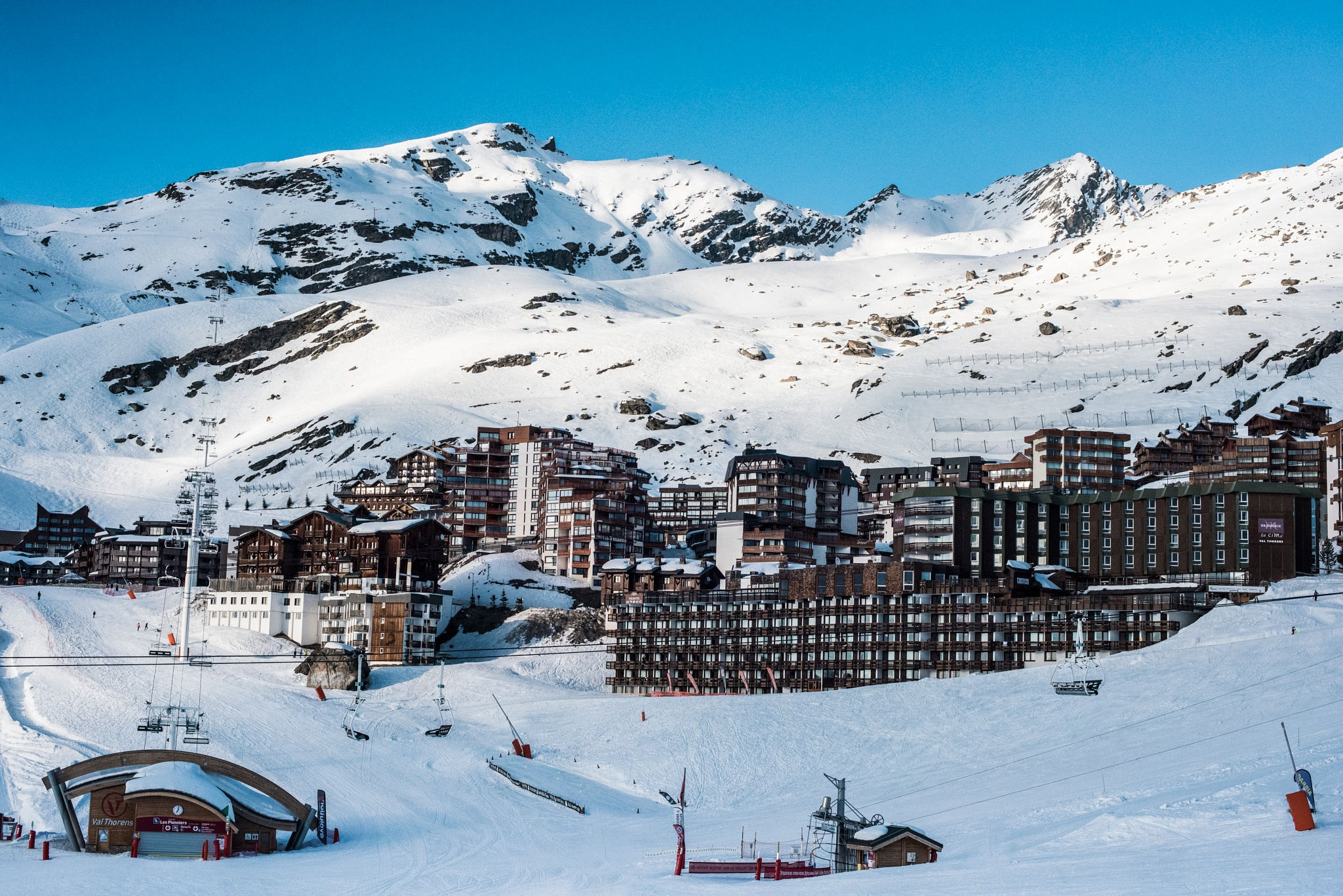 Val Thorens Village by LouiseKaye