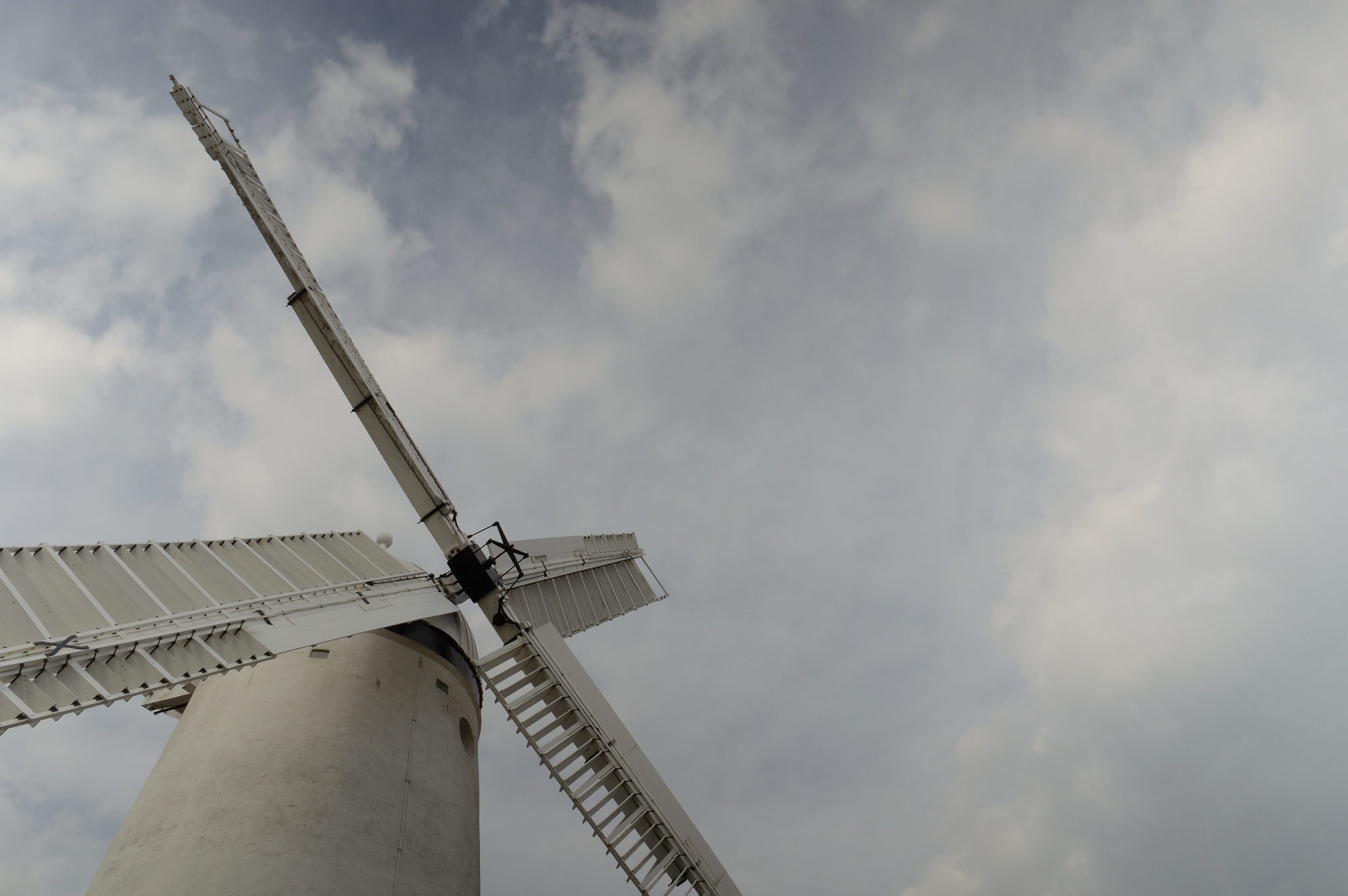 Windmill in Mourning by Chris Clark