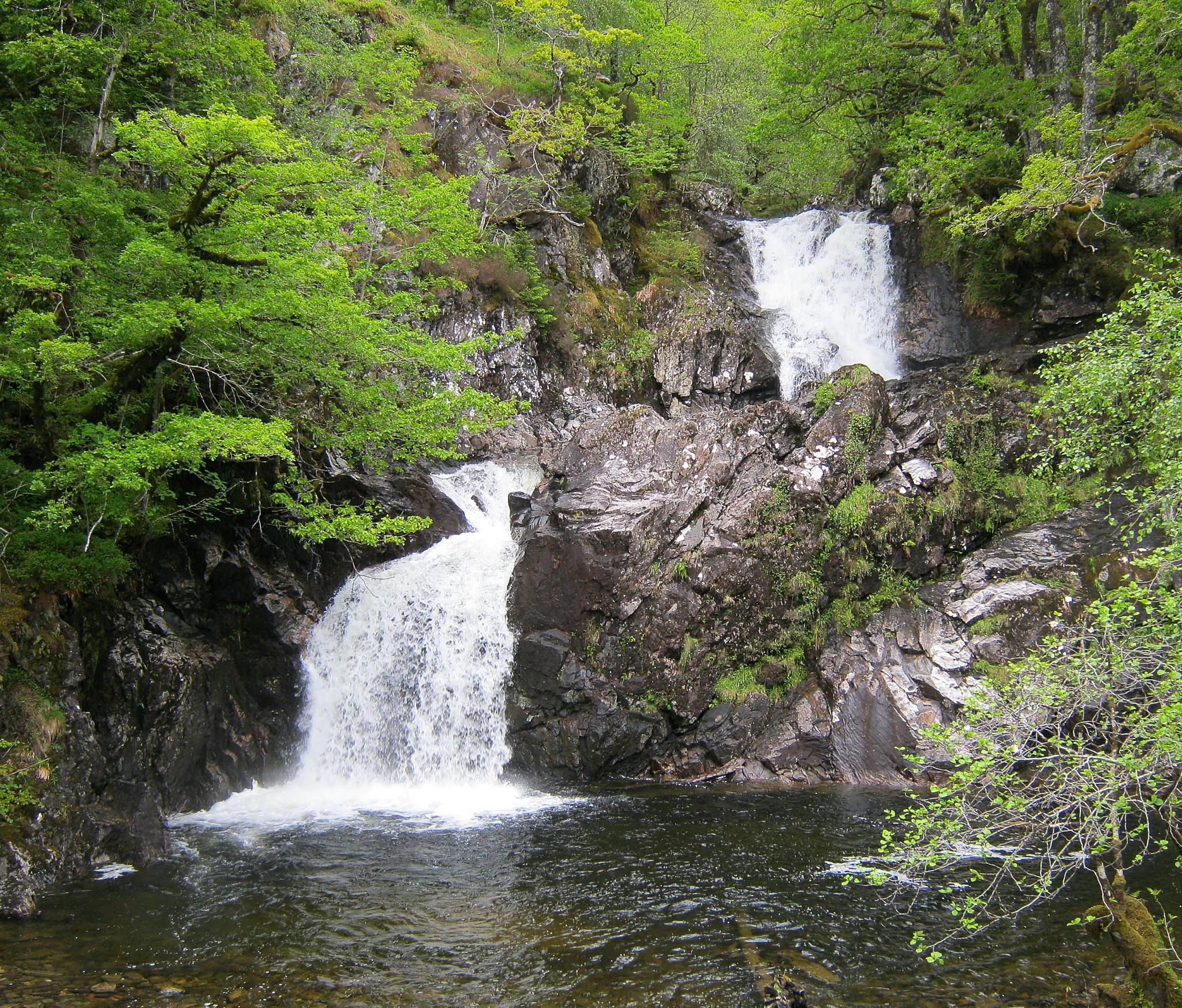 Highland Cascade by Chris Clark