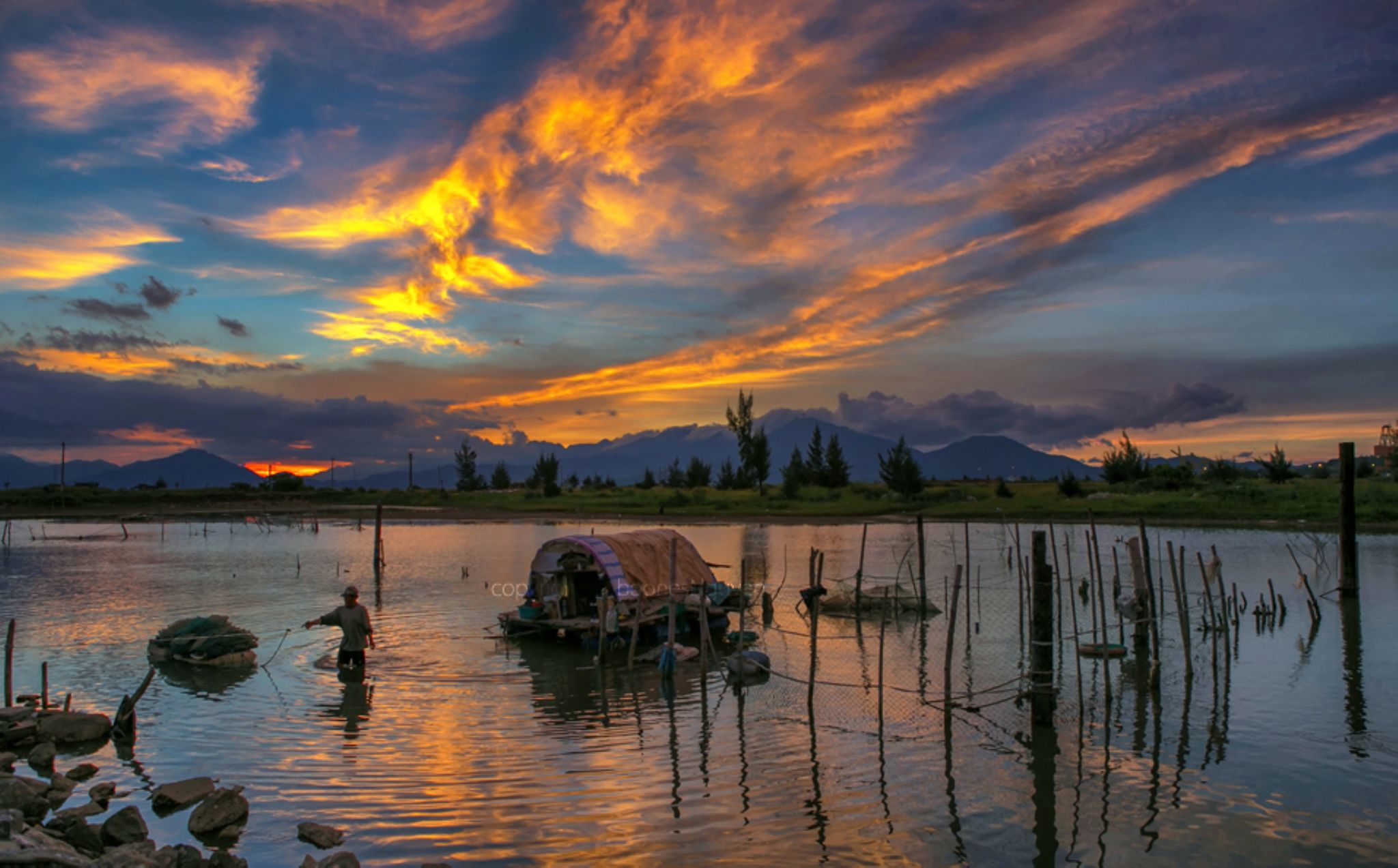 The color of dawn by Boones Nguyen
