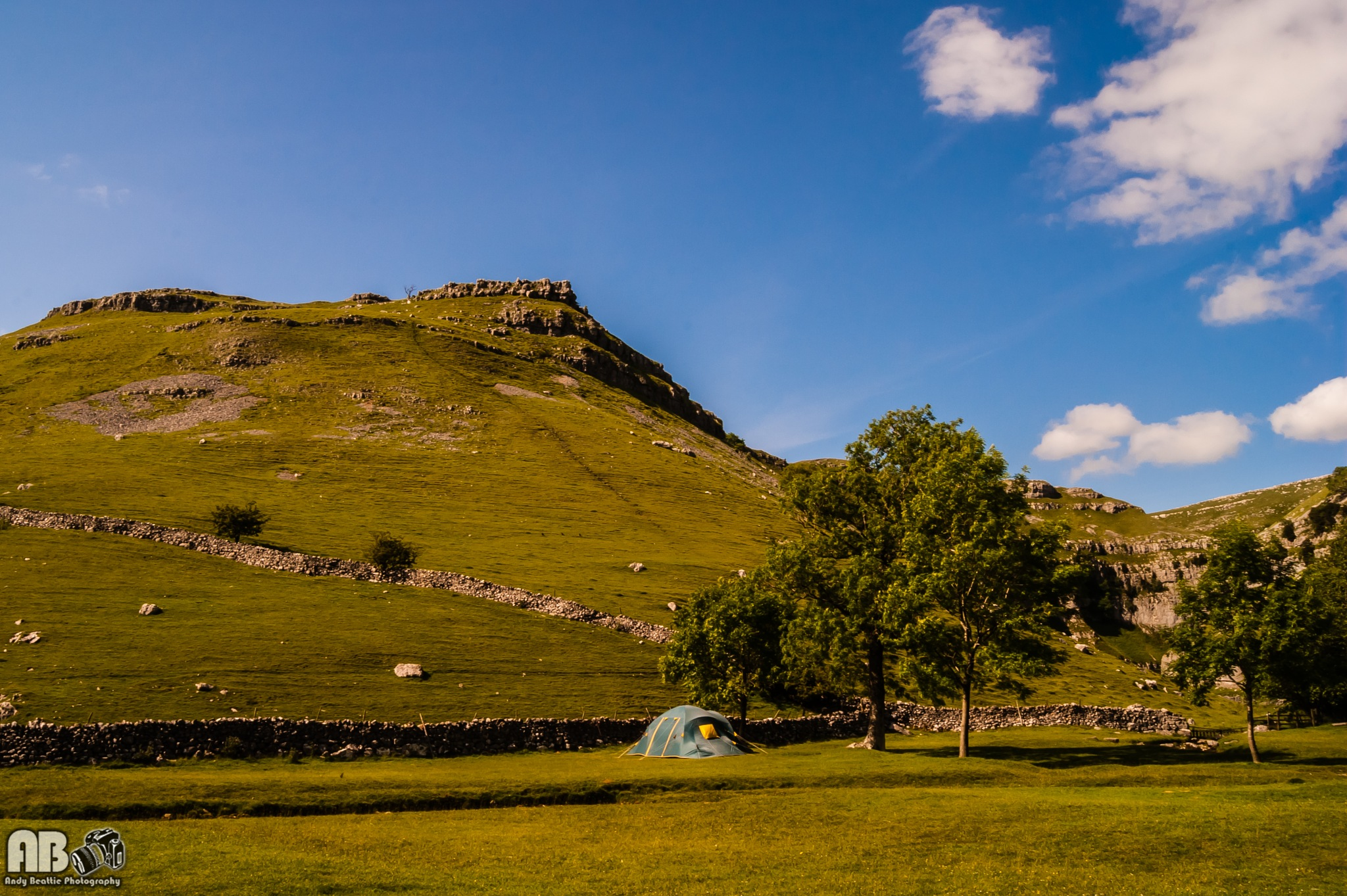 Gordale Camping by Andy Beattie Photography