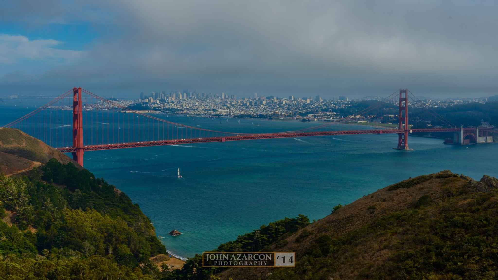 Golden Gate Bridge by jrazarcon
