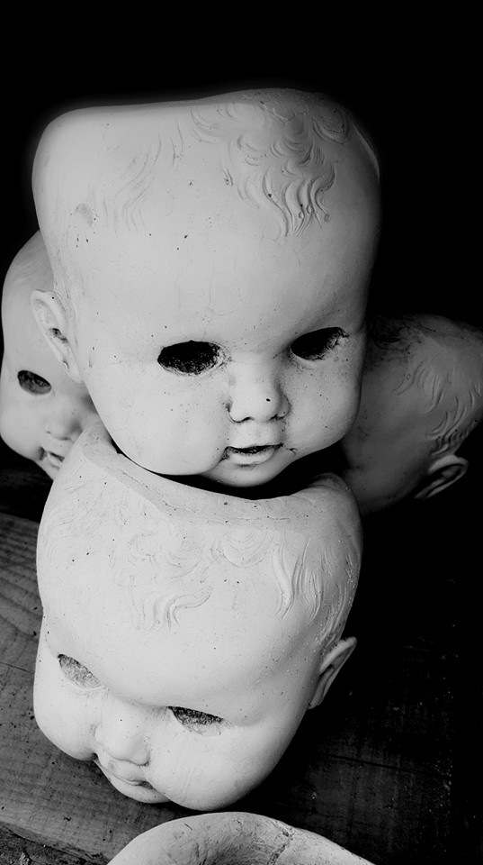 Creepy Baby Heads by bcroteau