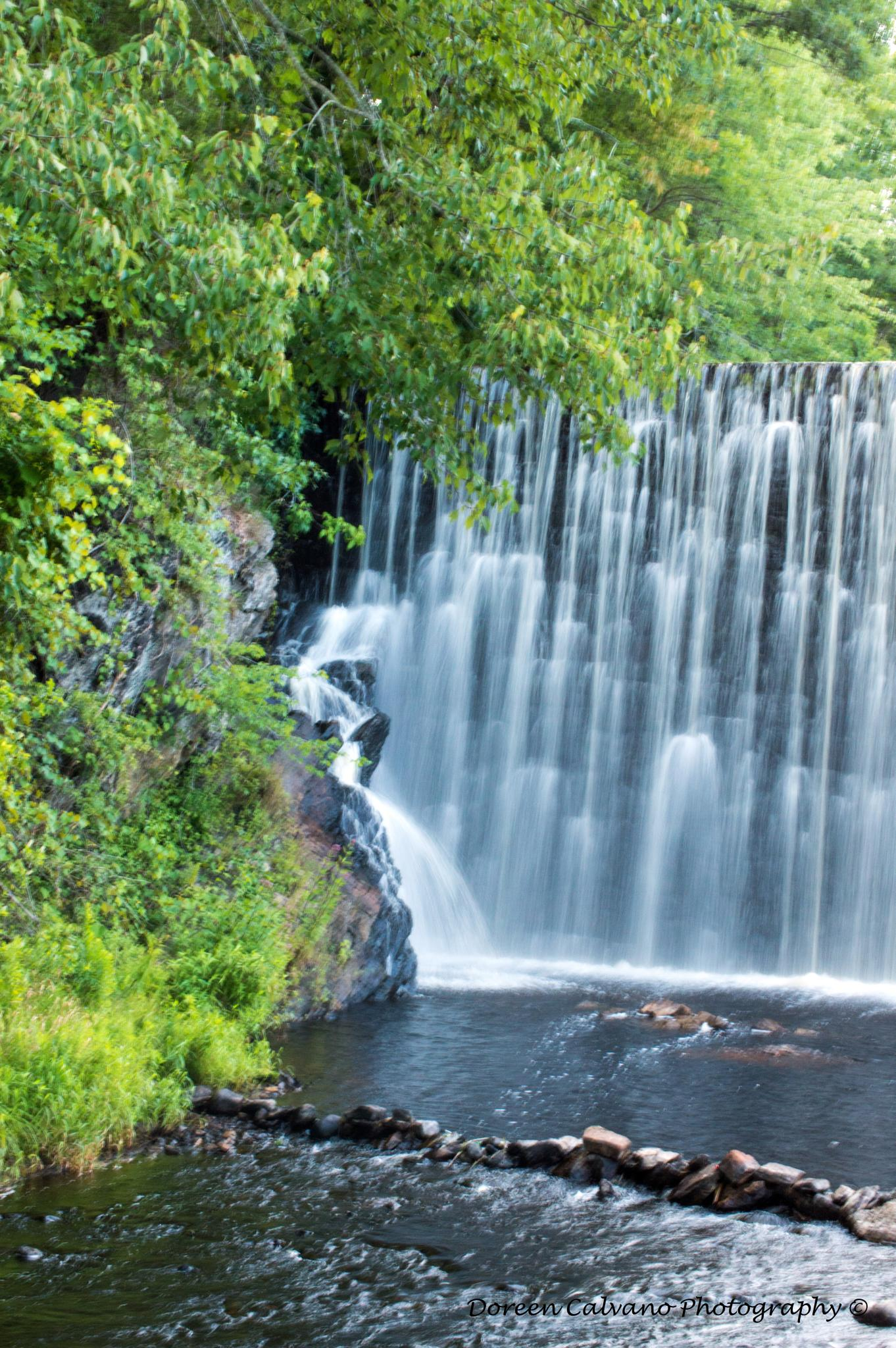 Waterfall ~ Griswold, CT by doreen.c.calvano