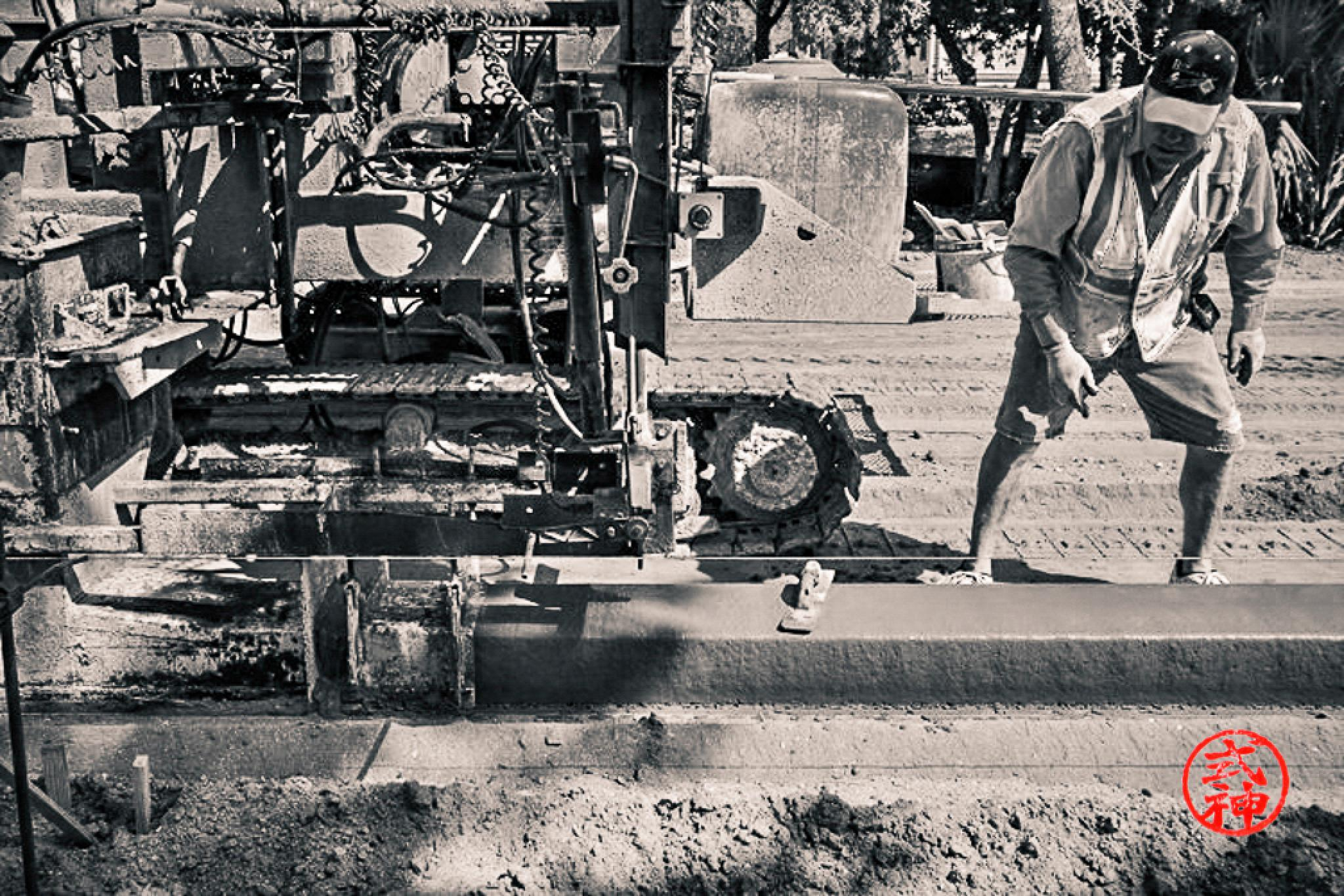 Photo in Random #halifax paving inc. #paige ave. #construction #paving