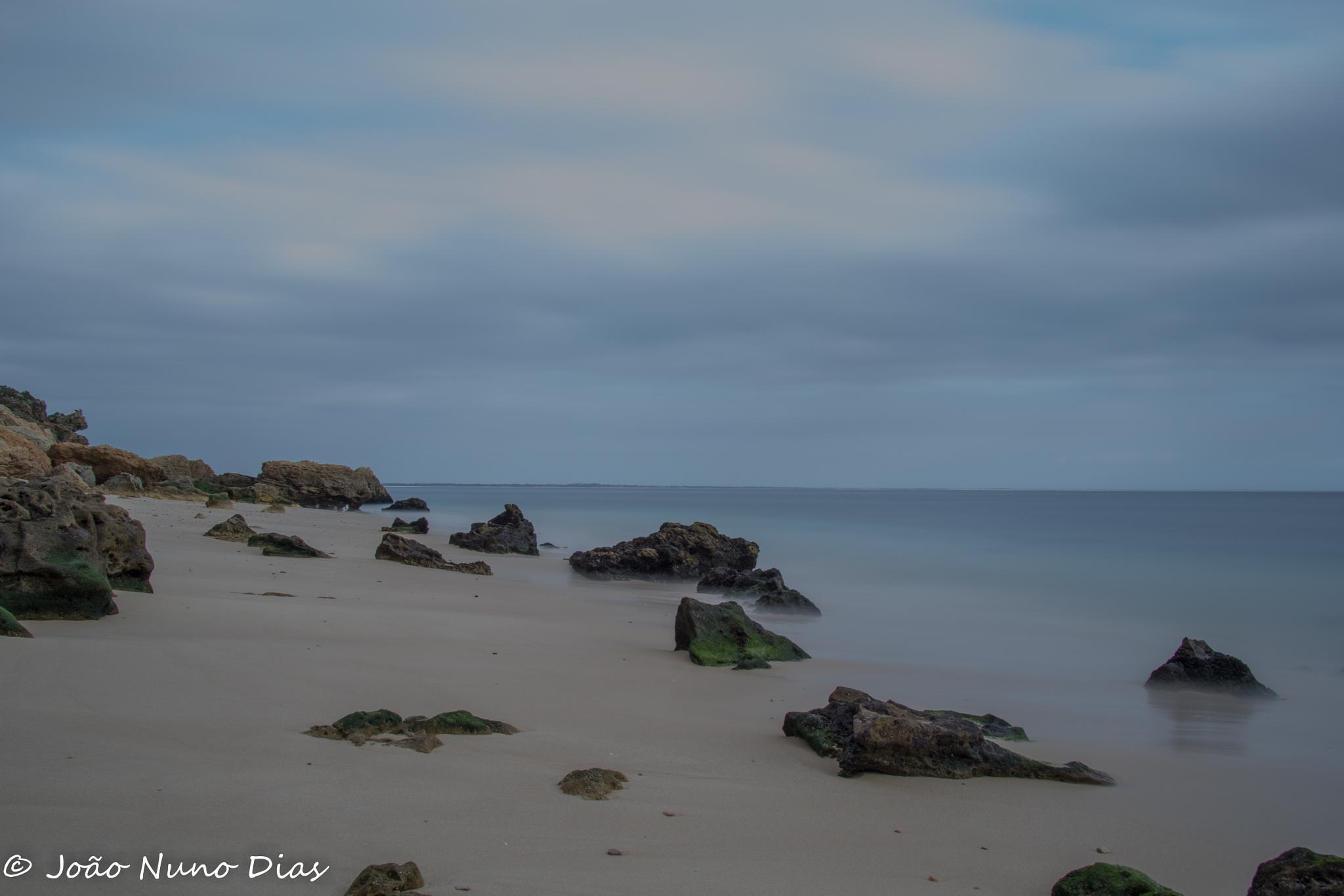Rocky beach by Nuno Dias