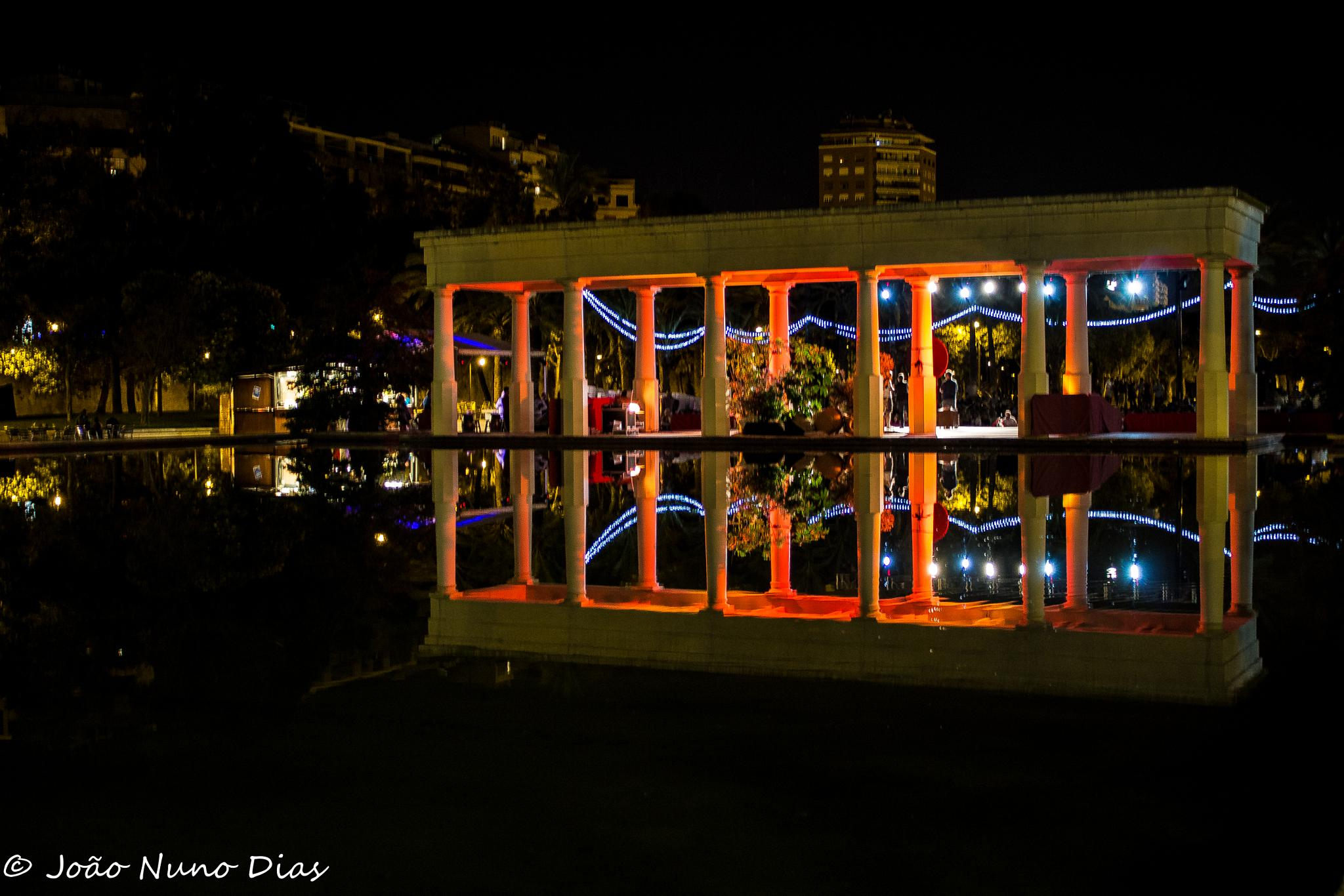 Night reflexions by Nuno Dias