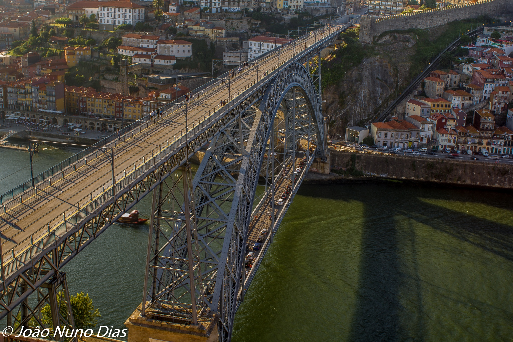 Oporto iconic bridge by Nuno Dias